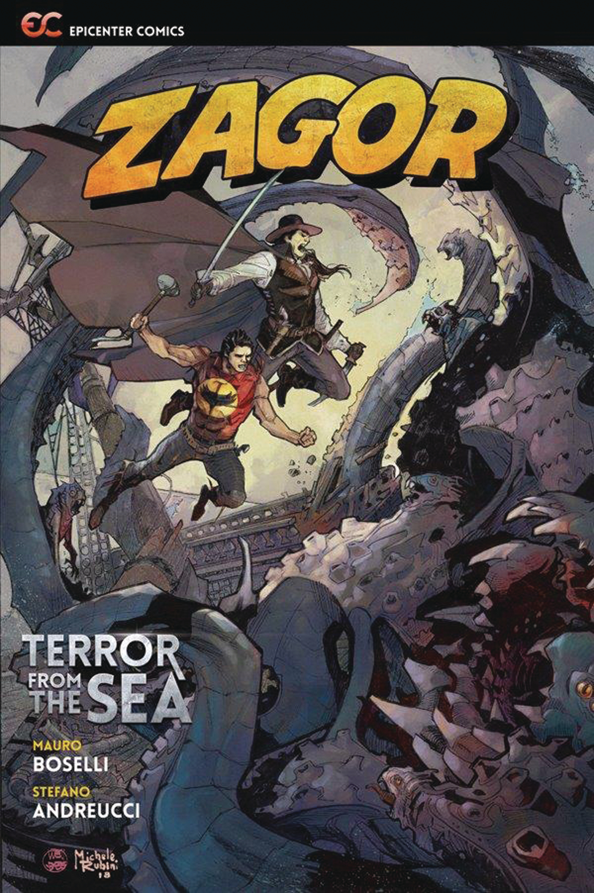 ZAGOR TERROR FROM THE SEA GN 2ND ED