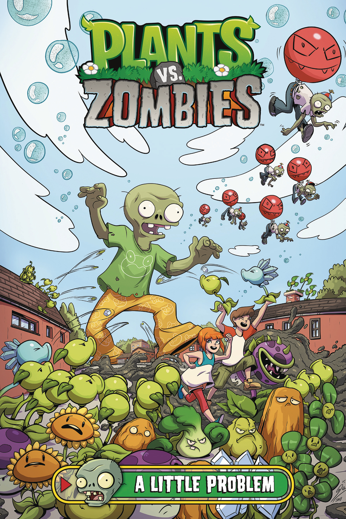 PLANTS VS ZOMBIES A LITTLE PROBLEM HC