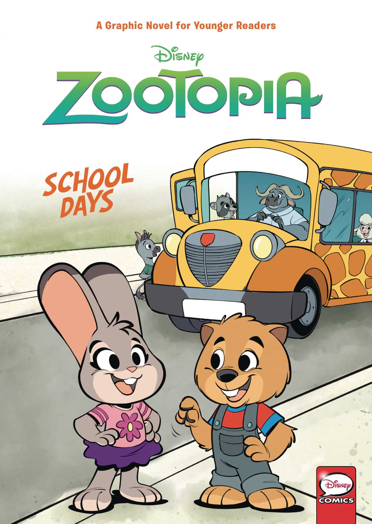 DISNEY ZOOTOPIA SCHOOL DAYS (YA) HC VOL 01
