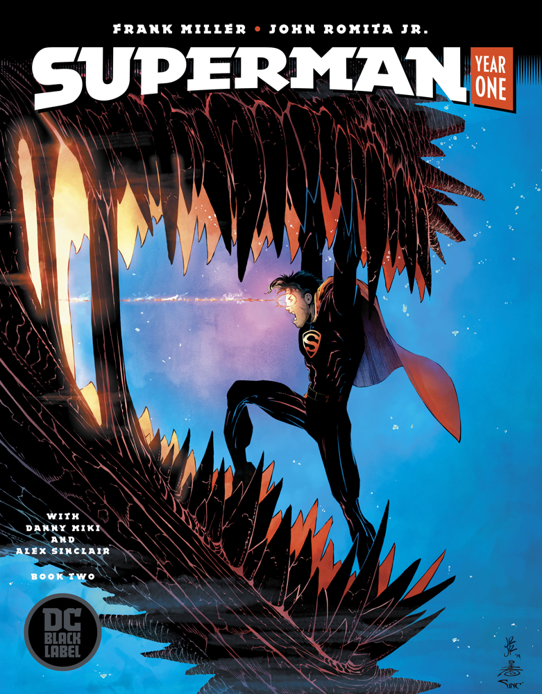 superman year one book 2