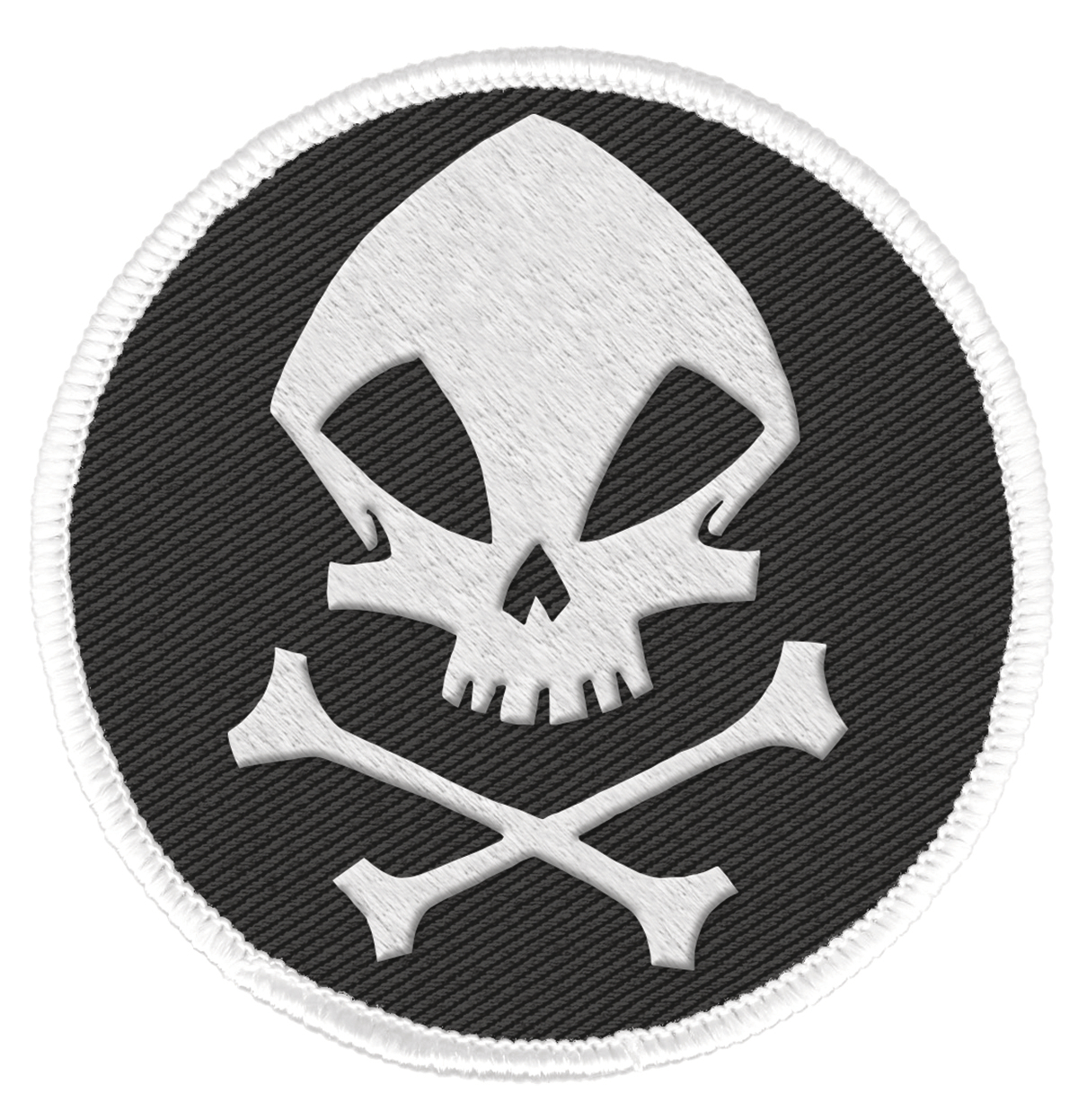 UMBRELLA ACADEMY PATCH KRAKEN SKULL LOGO (O/A)