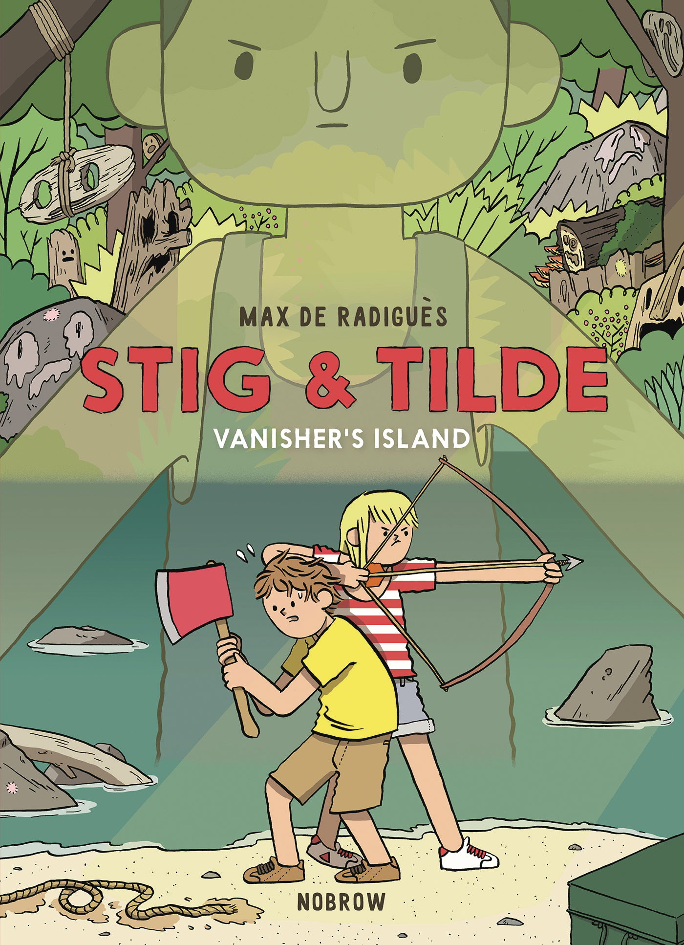 STIG AND TILDE GN VOL 01 VANISHERS ISLAND