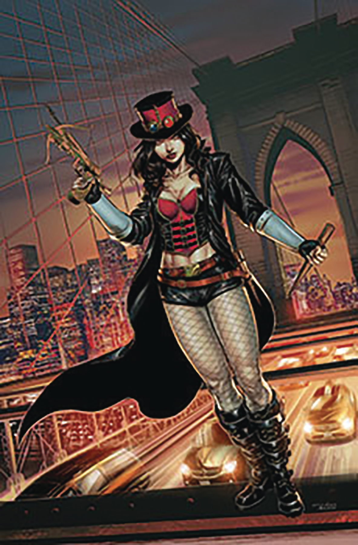 VAN HELSING VS DRACULAS DAUGHTER #2 (OF 5) CVR A MARIA