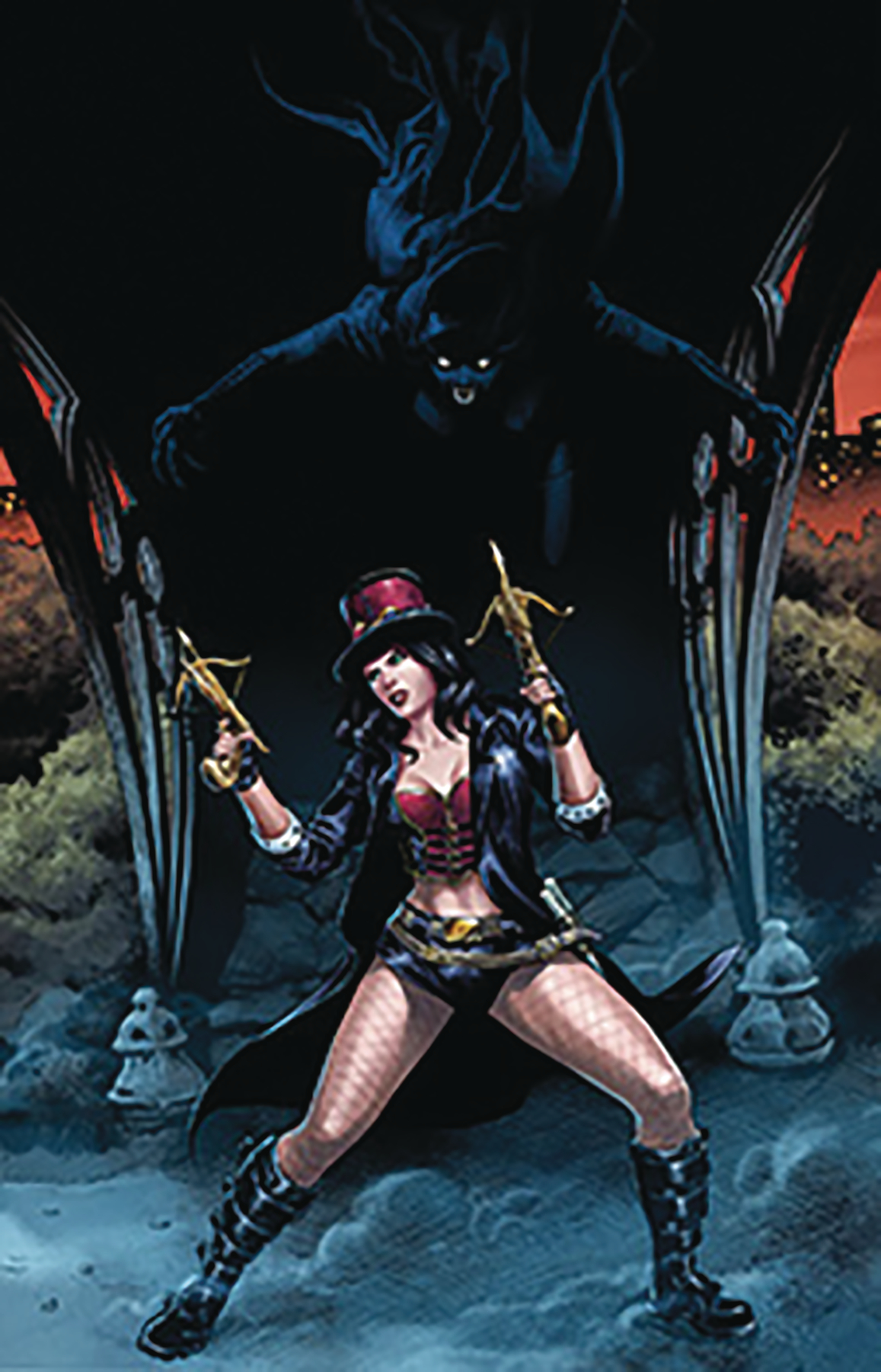 VAN HELSING VS DRACULAS DAUGHTER #2 (OF 5) CVR D COCCOLO