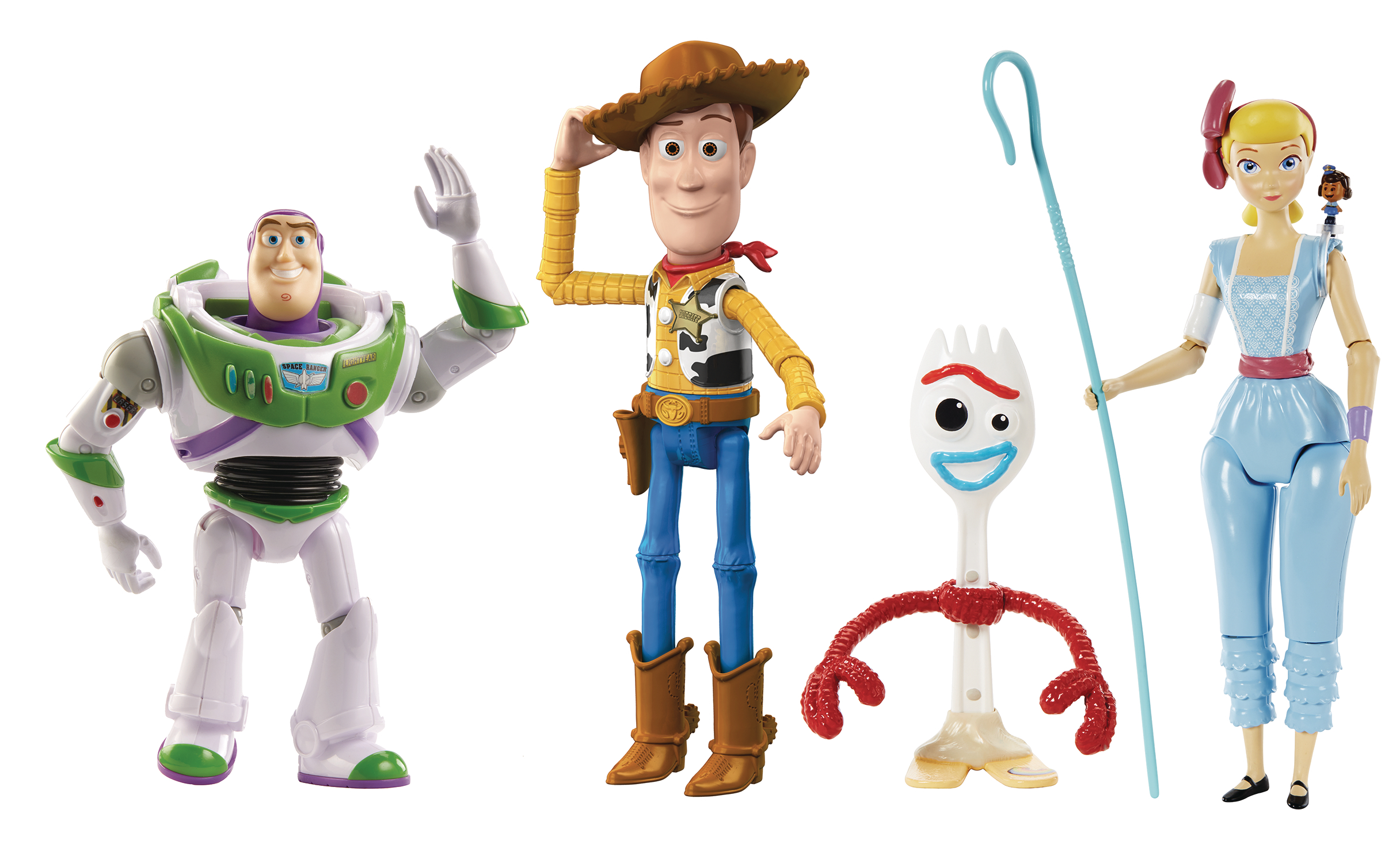TOY STORY 4 ADVENTURE PACK 4PC 7IN AF SET  (APR198043)
