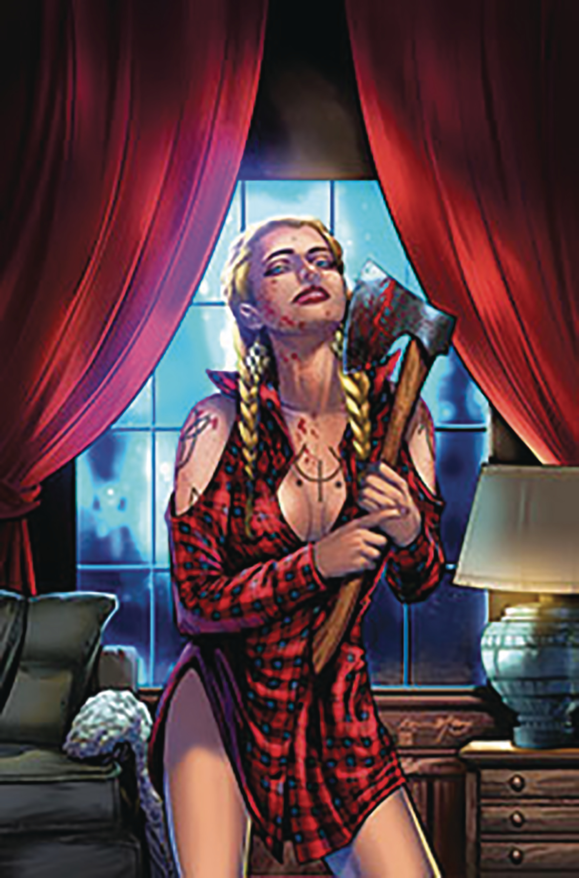 GFT PRESENTS 2019 HORROR PINUP ONESHOT CVR B MCCOY