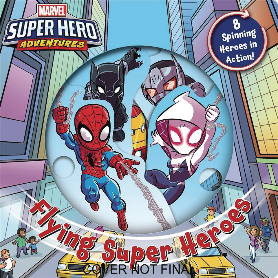 MARVEL FLYING SUPER HEROES BOARD BOOK