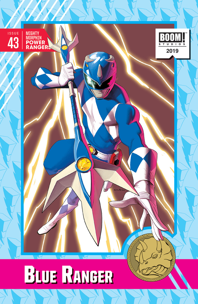 MIGHTY MORPHIN POWER RANGERS #43 20 COPY ANKA INCV