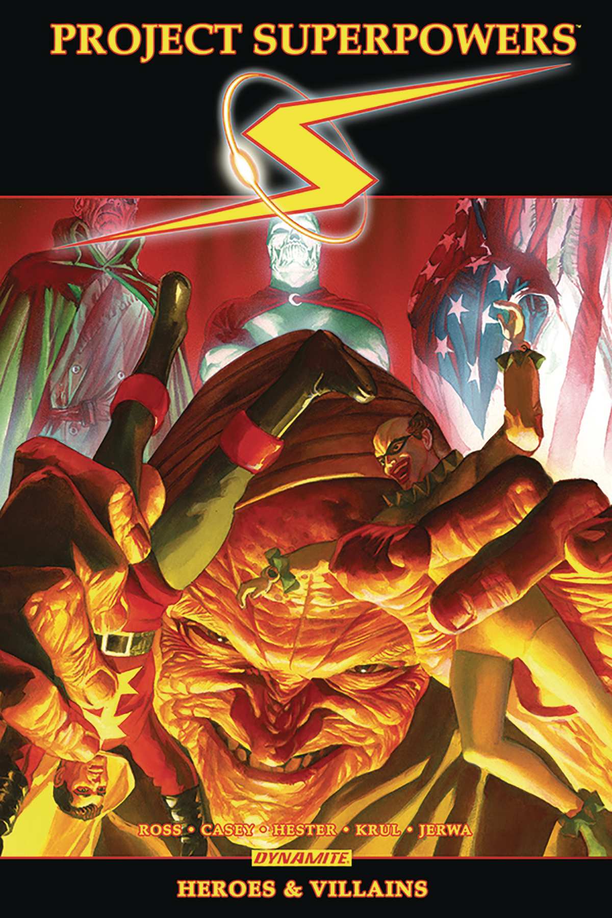 PROJECT SUPERPOWERS OMNIBUS TP VOL 03 HEROES VILLAINS