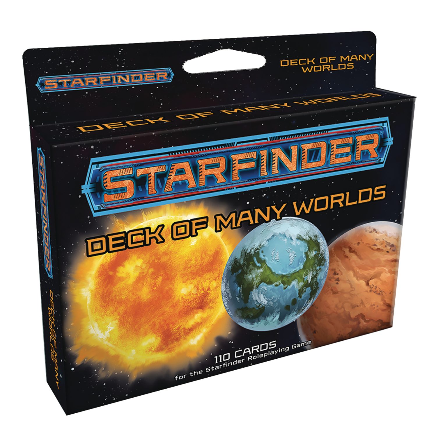 STARFINDER RPG MANY WORLDS DECK