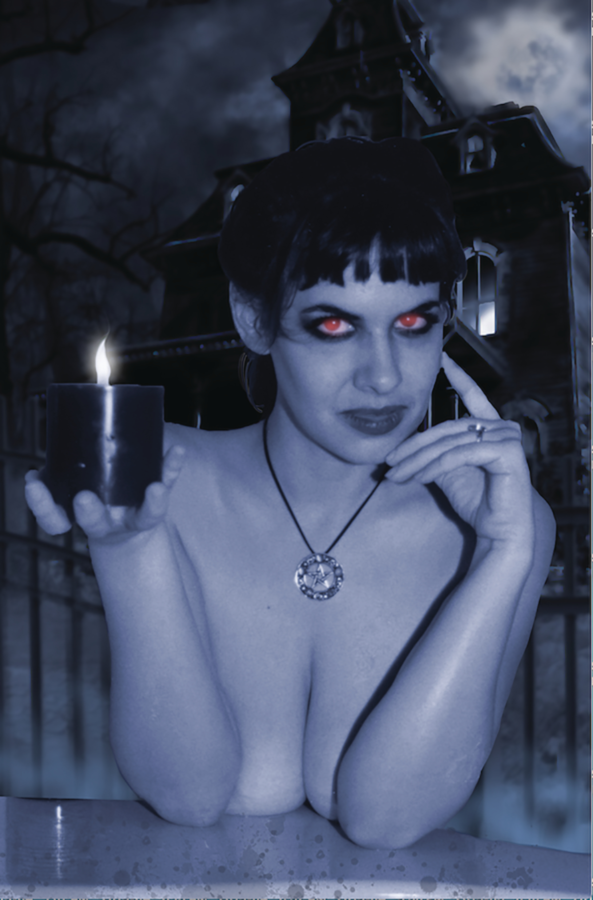TAROT WITCH OF THE BLACK ROSE #118 HAUNTED PHOTO CVR ED (MR)