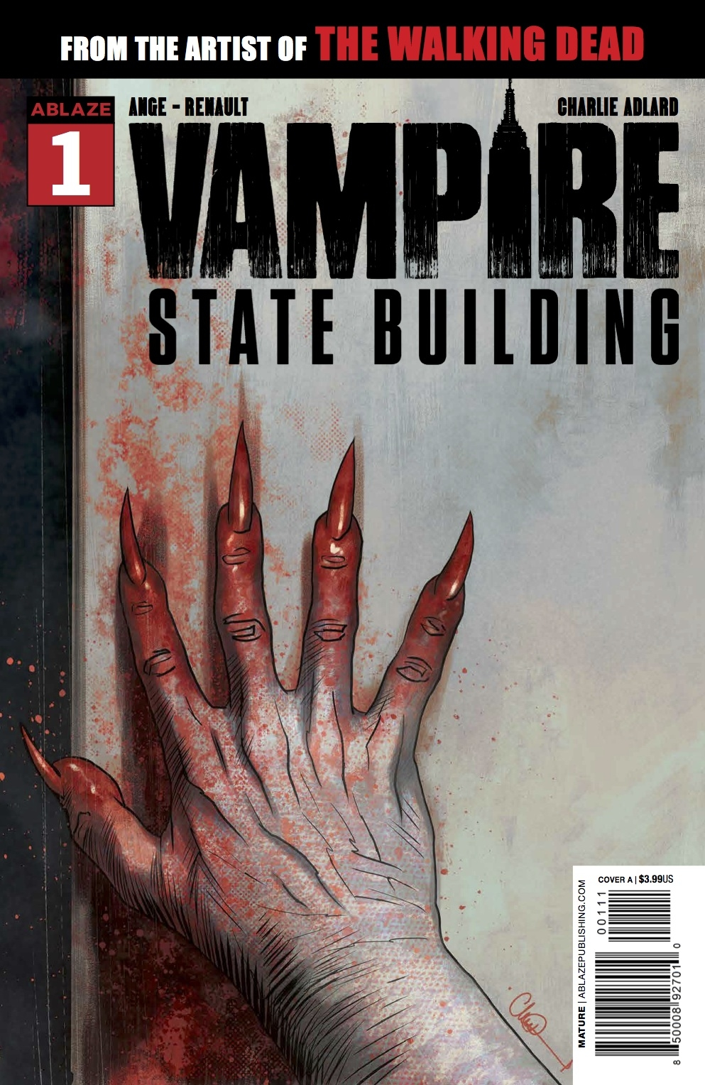 JUL191360 - VAMPIRE STATE BUILDING #1 CVR A ADLARD - Previews World