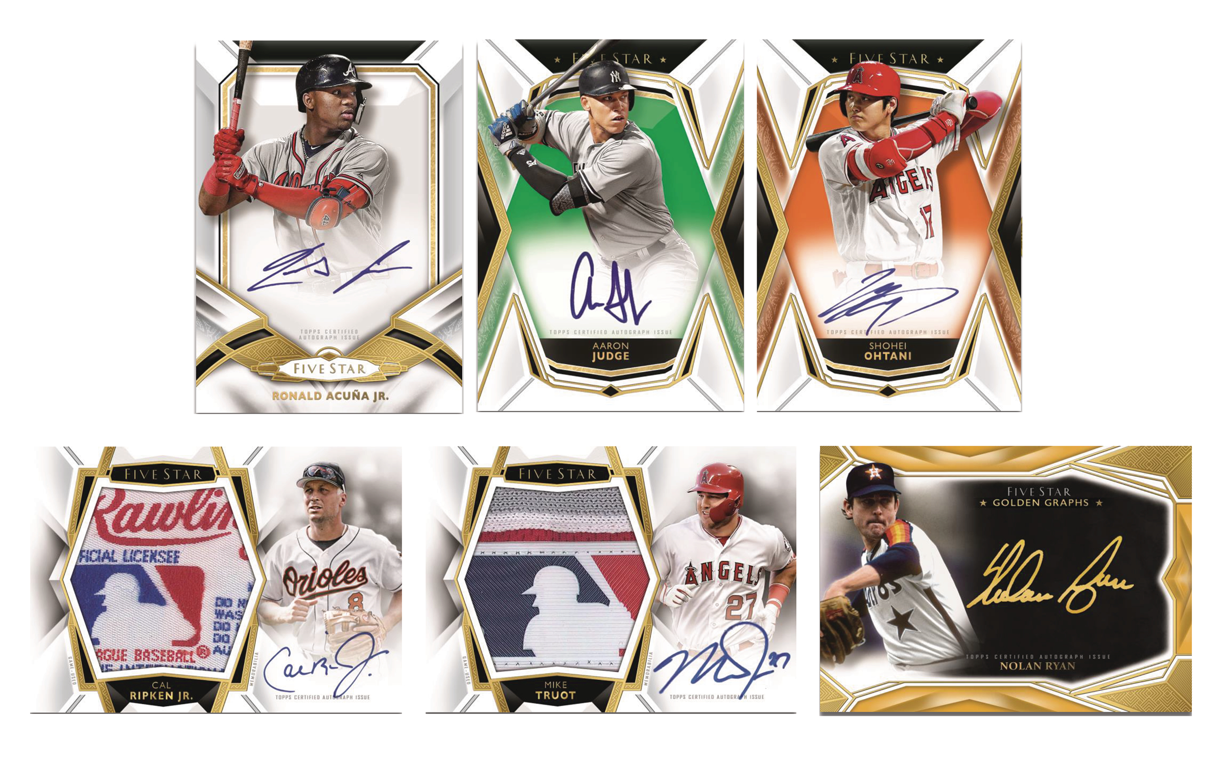 TOPPS 2019 FIVE STAR BASEBALL T/C BOX
