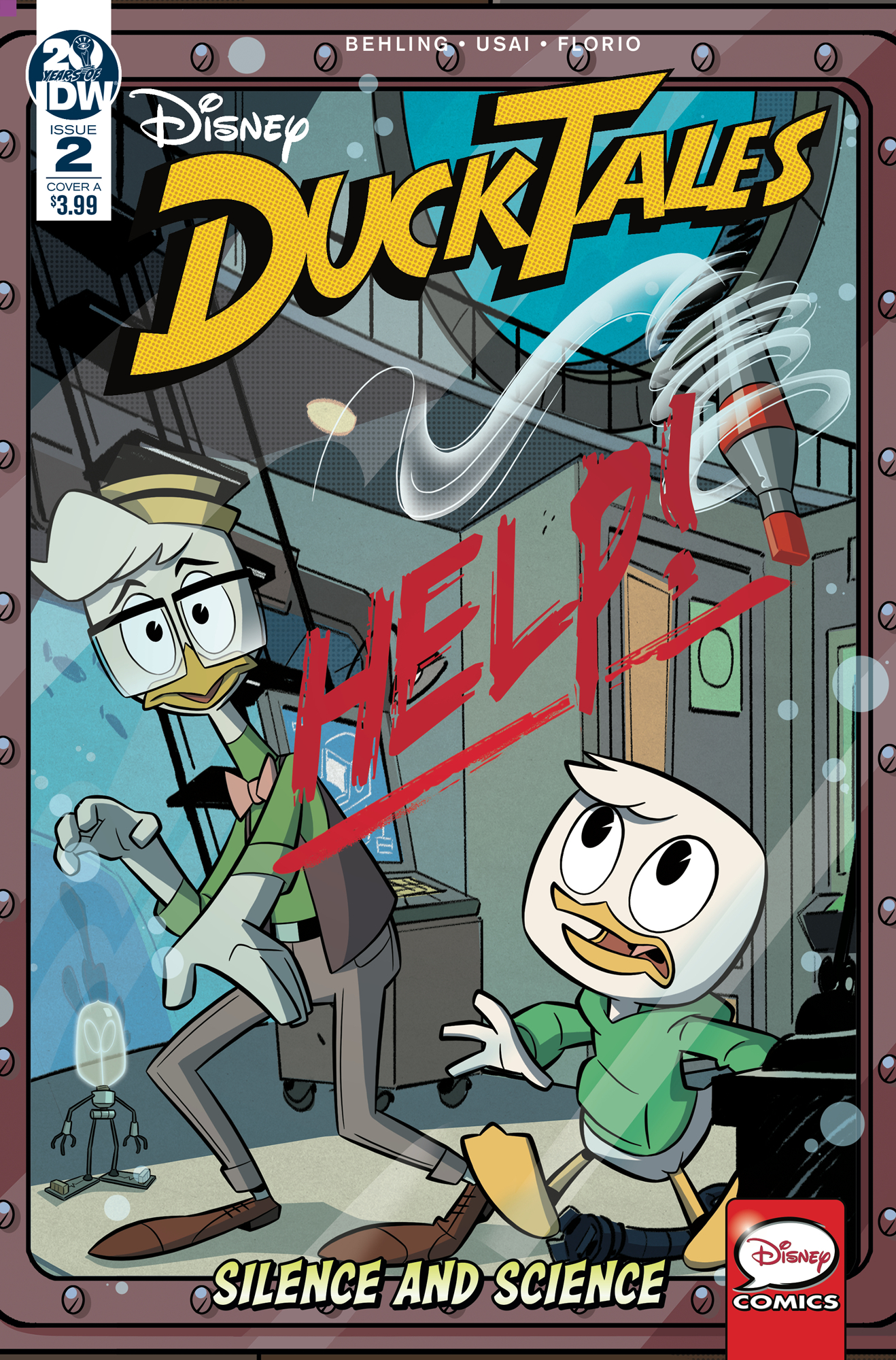 DUCKTALES SILENCE & SCIENCE #2 (OF 3) CVR A GHIGLIONE