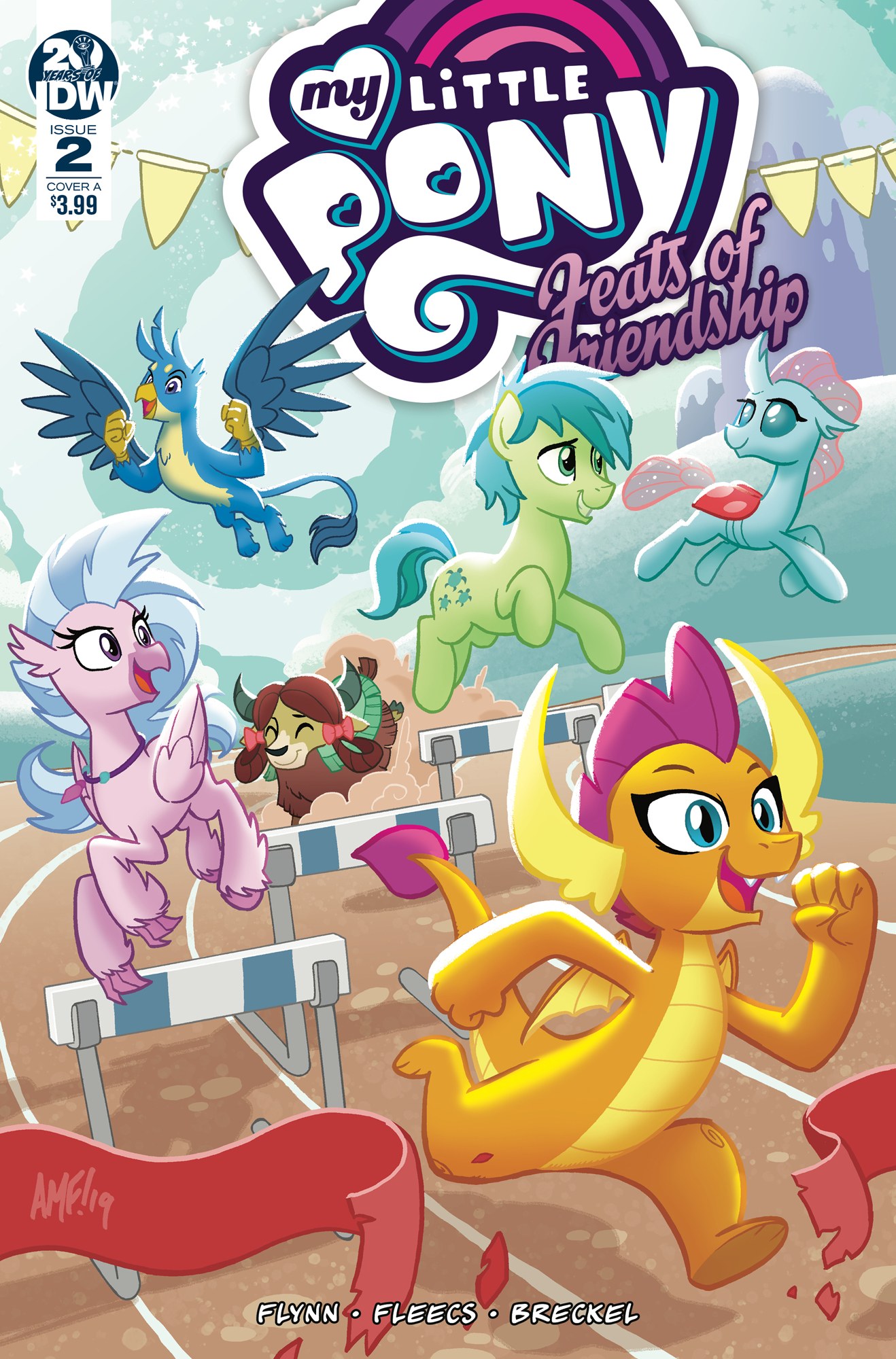 MY LITTLE PONY FEATS OF FRIENDSHIP #2 CVR A FLEECS
