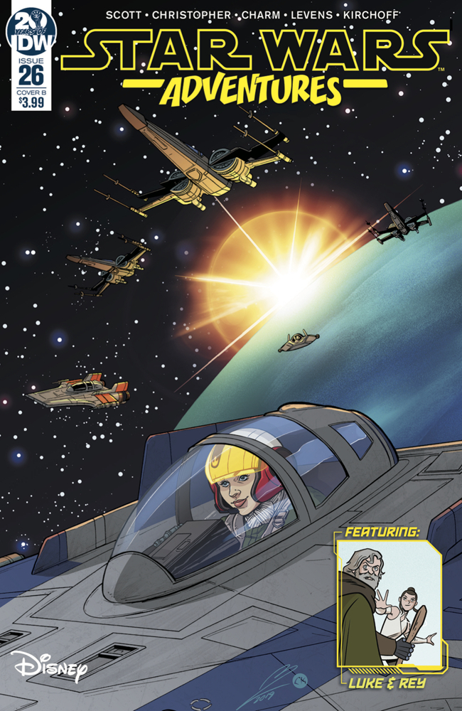 STAR WARS ADVENTURES #26 CVR B LEVENS