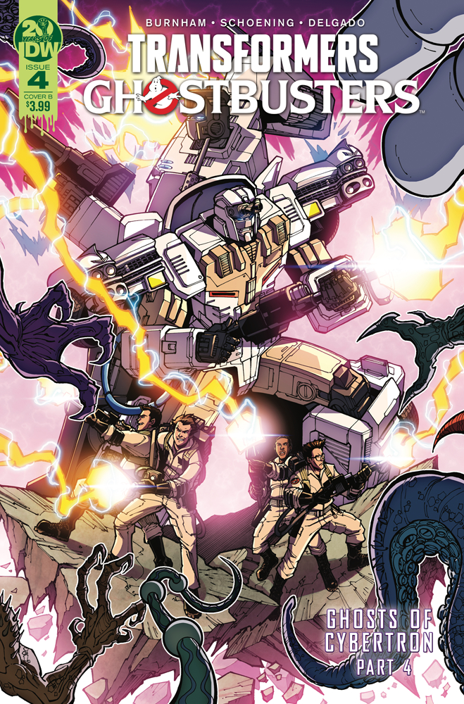 TRANSFORMERS GHOSTBUSTERS #4 (OF 5) CVR B MILNE