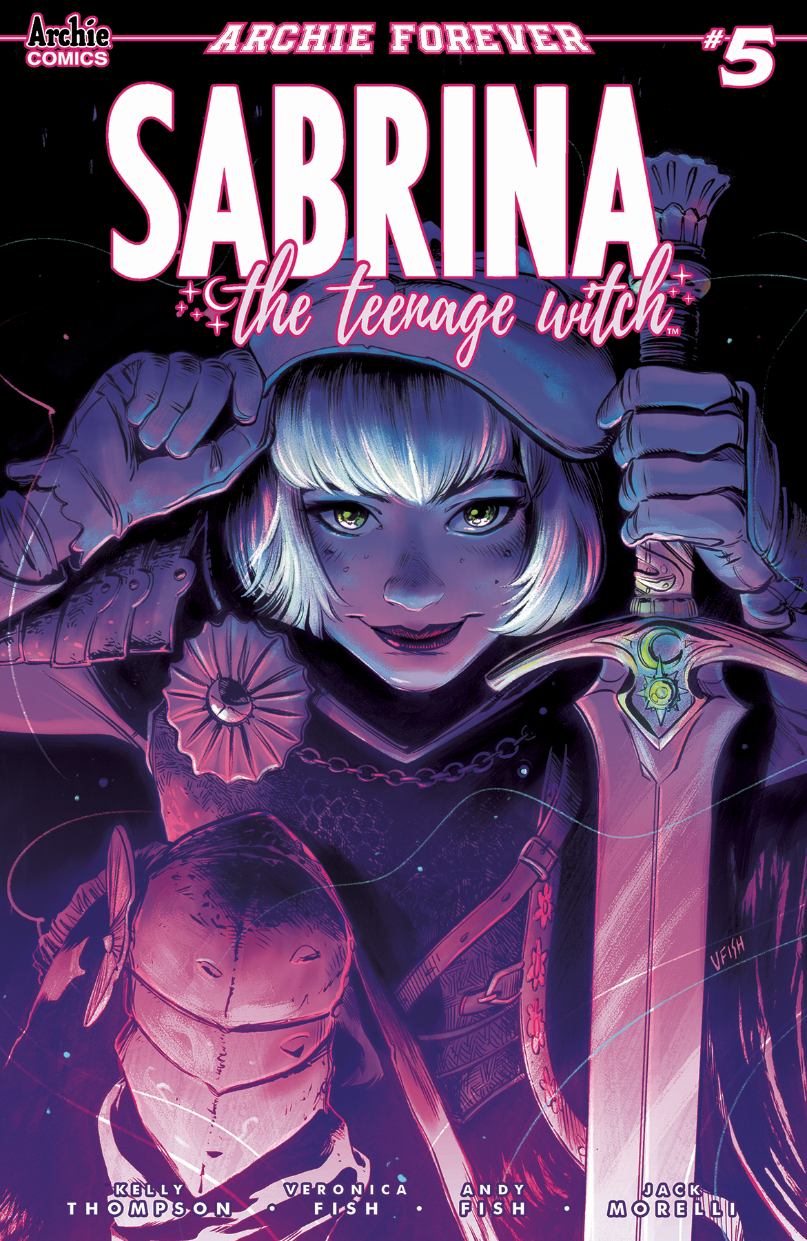 SABRINA TEENAGE WITCH #5 (OF 5) CVR A FISH