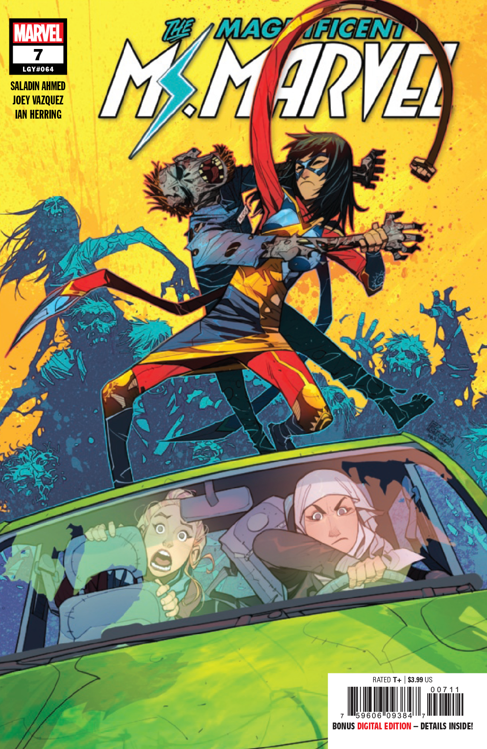 MAGNIFICENT MS MARVEL #7