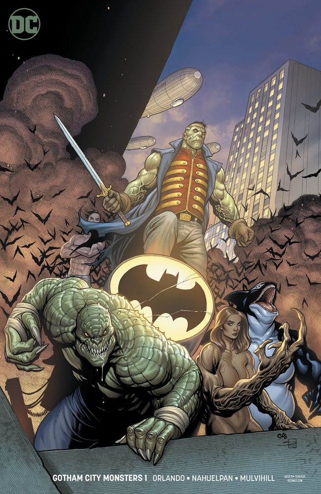 GOTHAM CITY MONSTERS #1 (OF 6) VAR ED