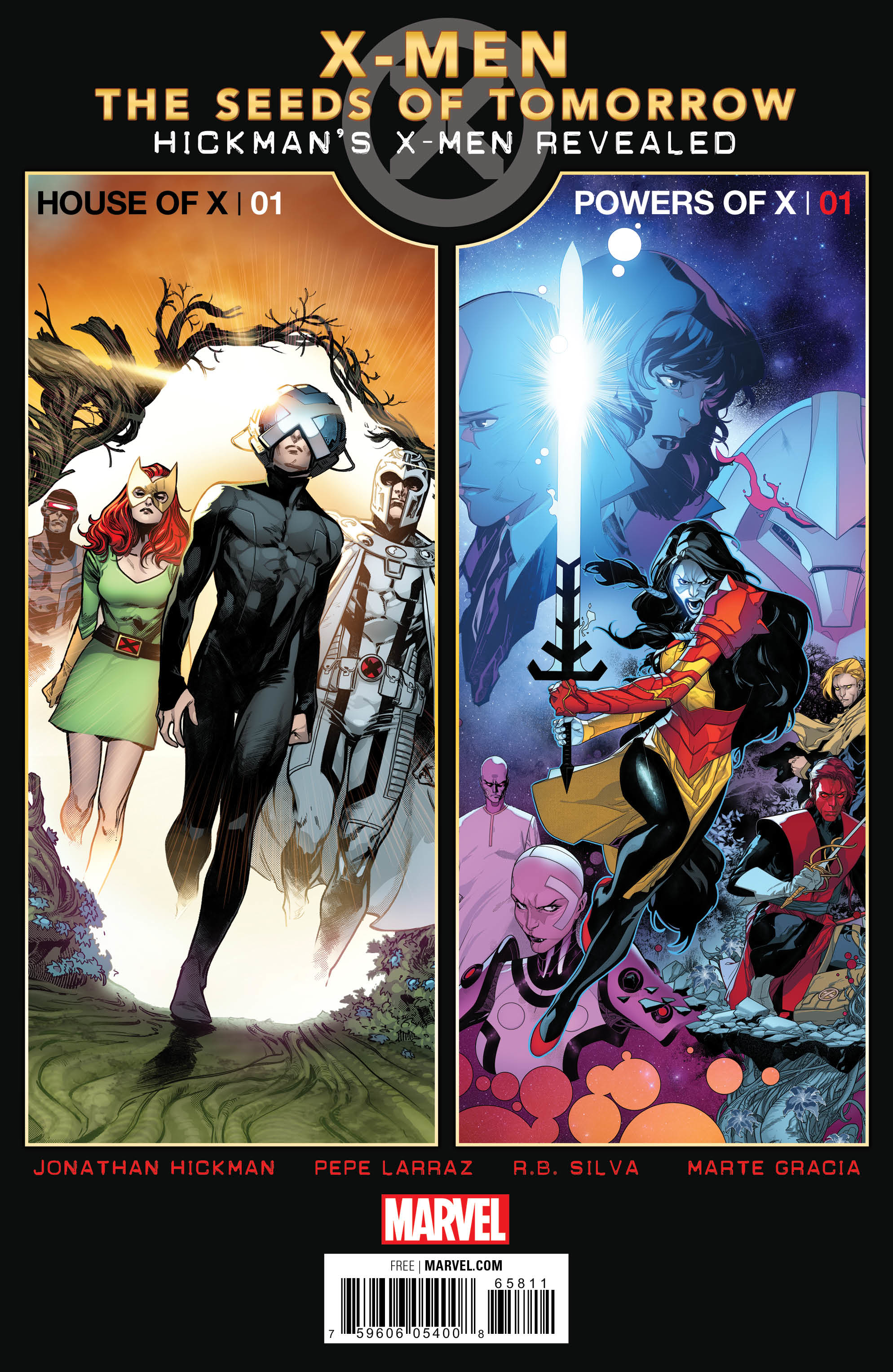 HOUSE OF X POWERS OF X PREVIEWS (BUNDLE OF 25)