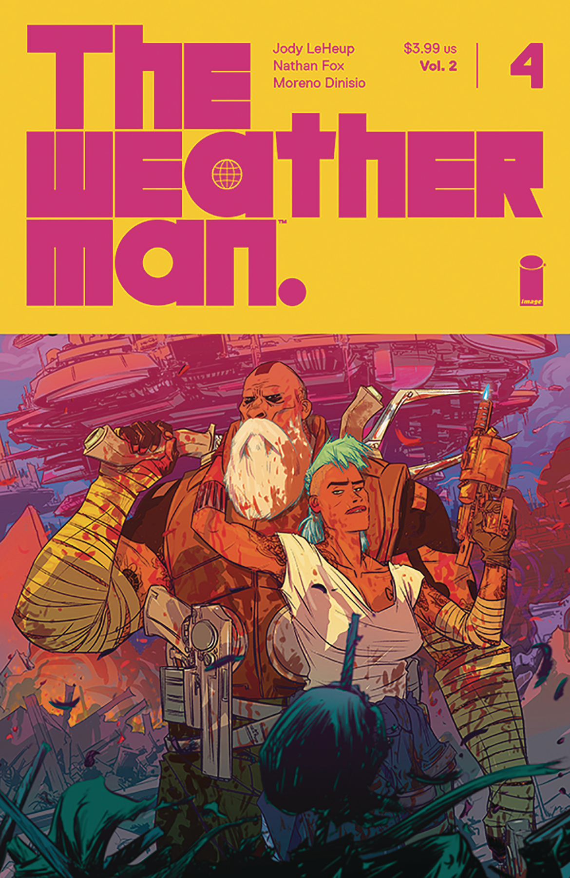 WEATHERMAN VOL 2 #4 CVR A FOX (MR)