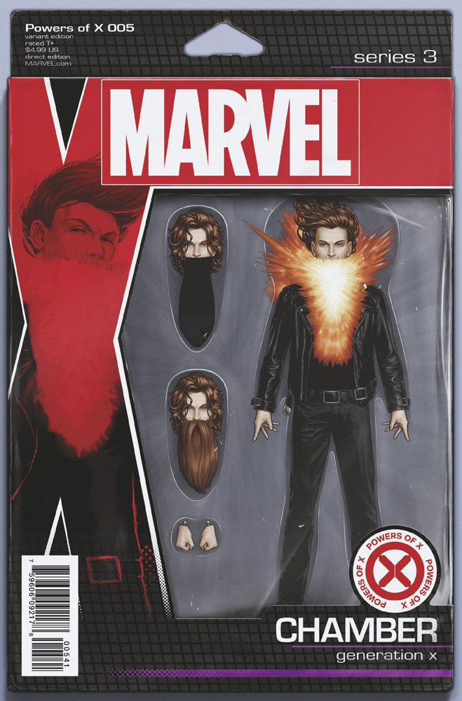 POWERS OF X #5 (OF 6) CHRISTOPHER ACTION FIGURE VAR