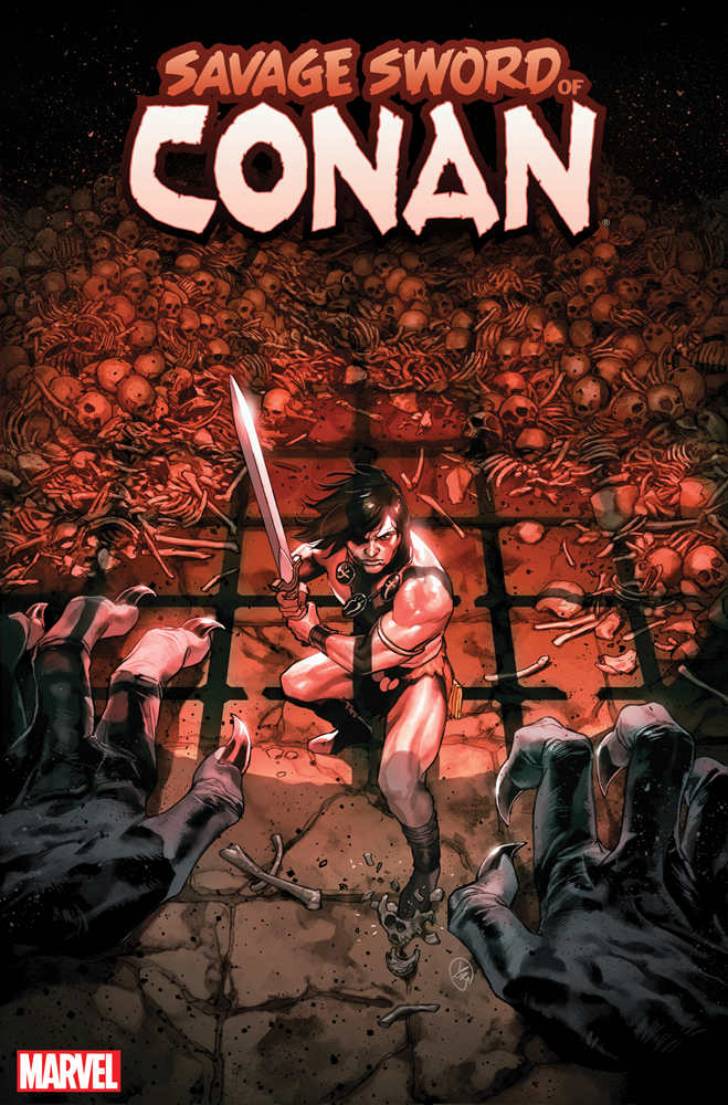 SAVAGE SWORD OF CONAN #9 PUTRI VAR