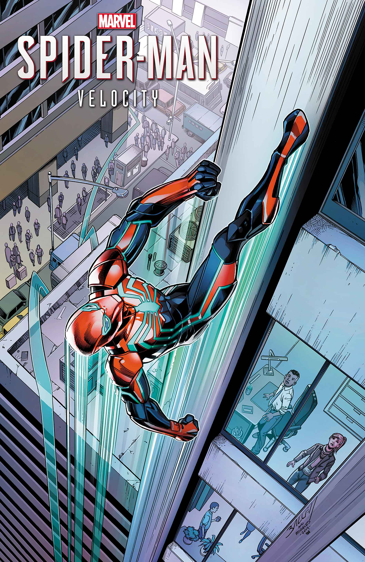 SPIDER-MAN VELOCITY #2 (OF 5) BAGLEY VAR
