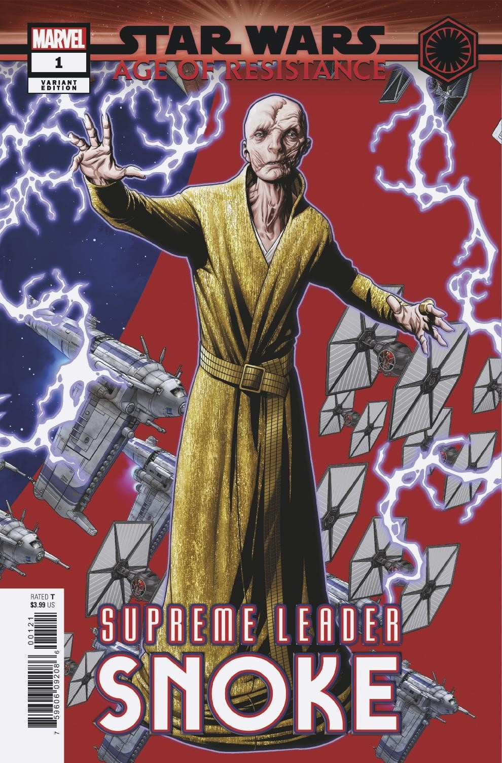 STAR WARS AOR SUPREME LEADER SNOKE #1 MCKONE PUZZLE PC VAR