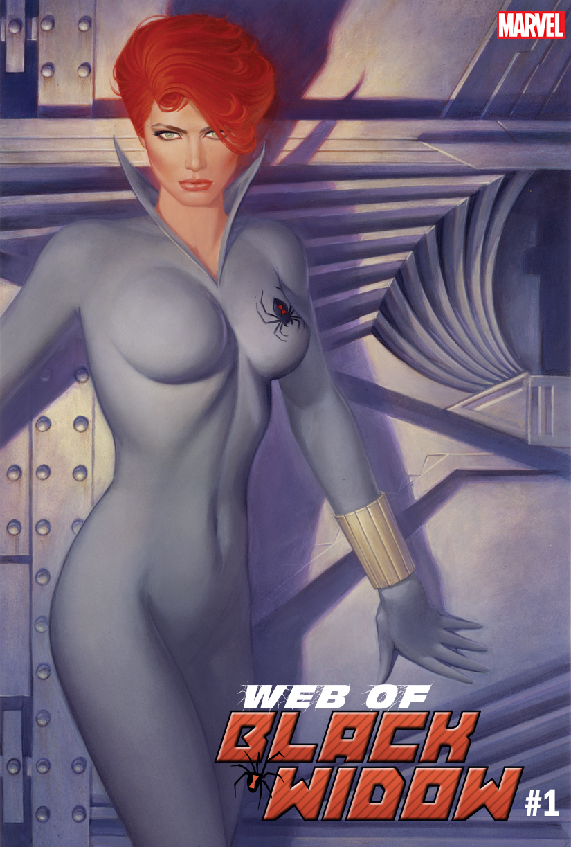 WEB OF BLACK WIDOW #1 (OF 5) CHIODO HIDDEN GEM VAR