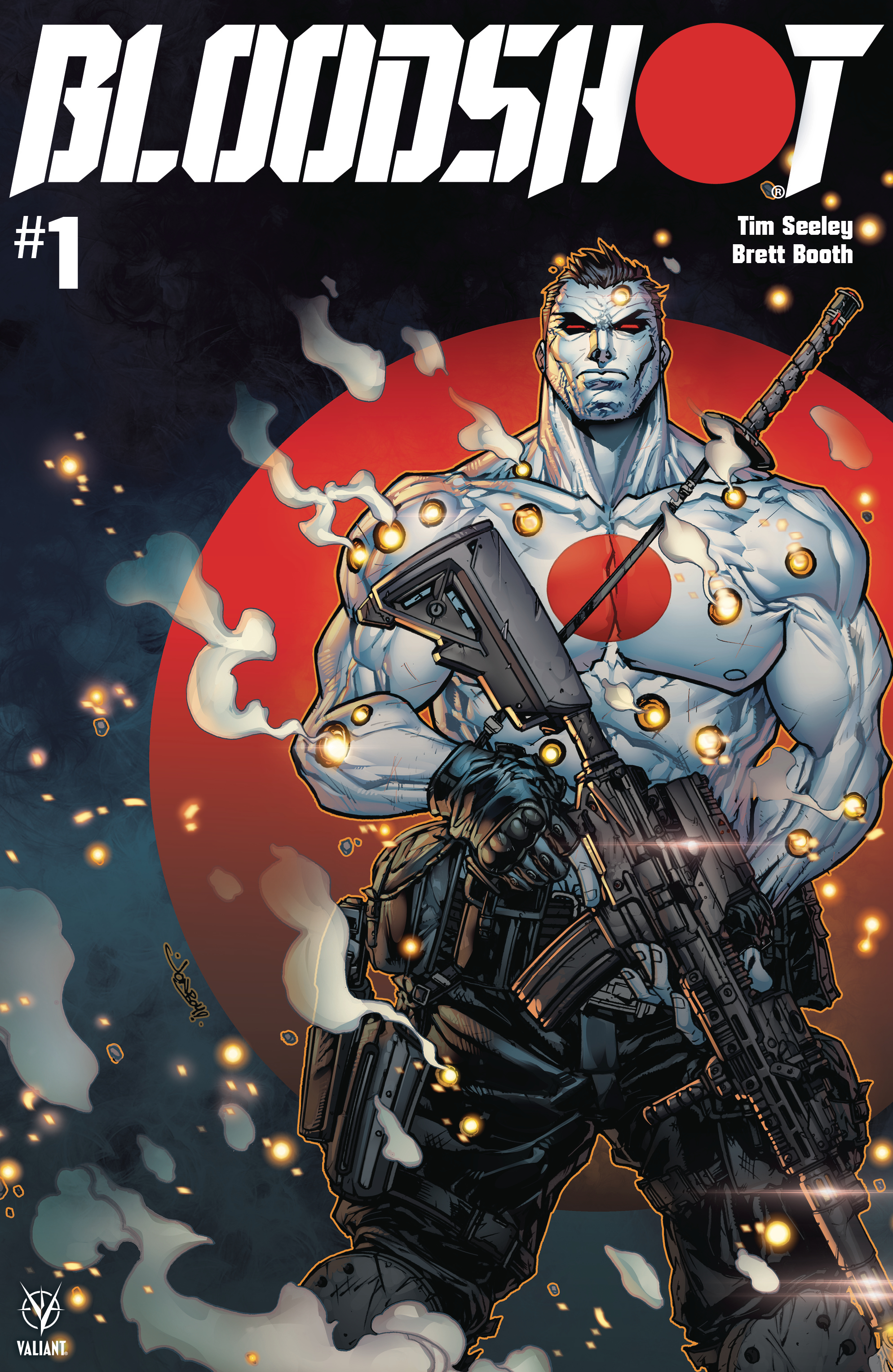 BLOODSHOT (2019) #1 CVR F 250 COPY CARBON FIBER VAR MEYERS (