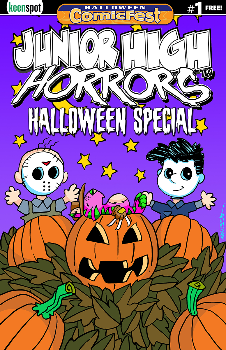 HCF 2019 JUNIOR HIGH HORRORS HALLOWEEN SPECIAL #1
