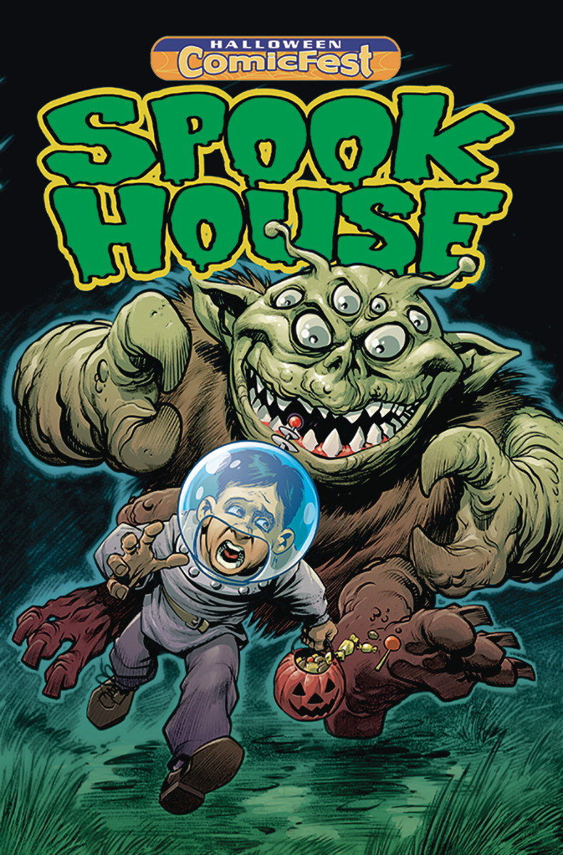 HCF 2019 SPOOKHOUSE MINI COMIC POLYPACK BUNDLE
