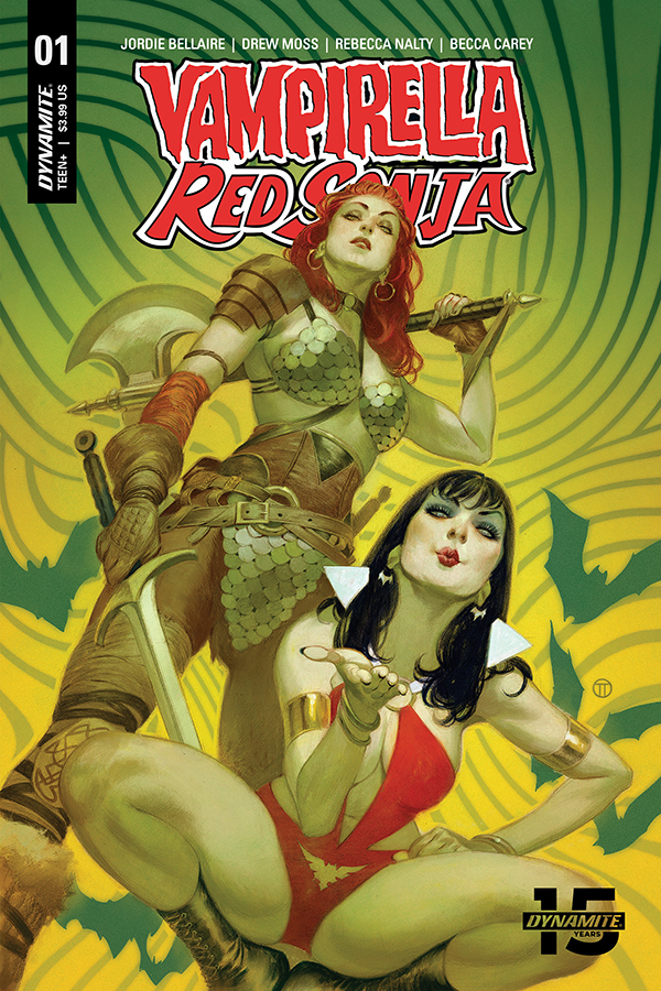 Red Sonja/Vampirella and Chastity Launch in Dynamite Entertainment September 2019 Solicitations