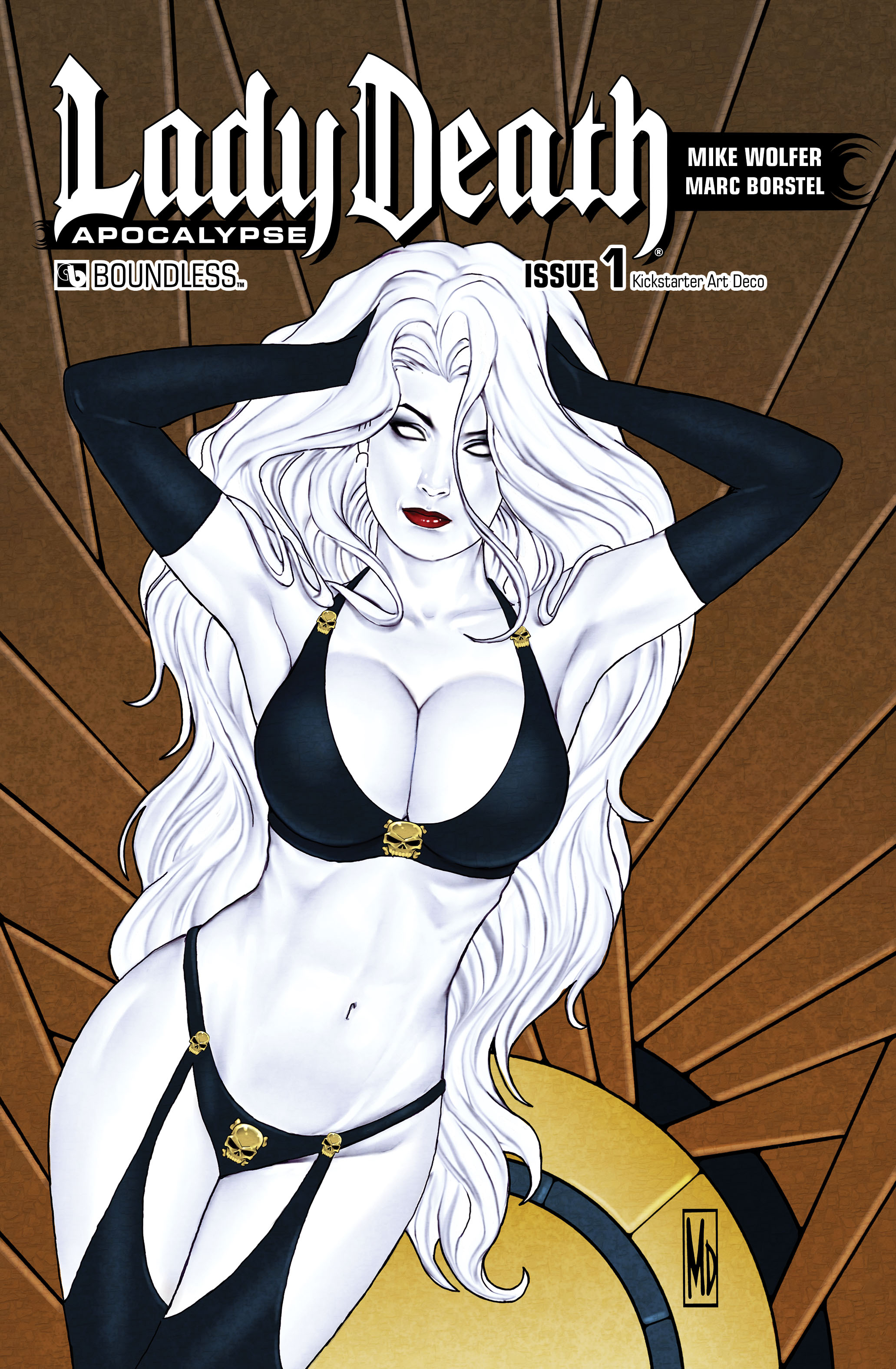 LADY DEATH APOCALYPSE #1 KICKSTARTER ART DECO (MR)