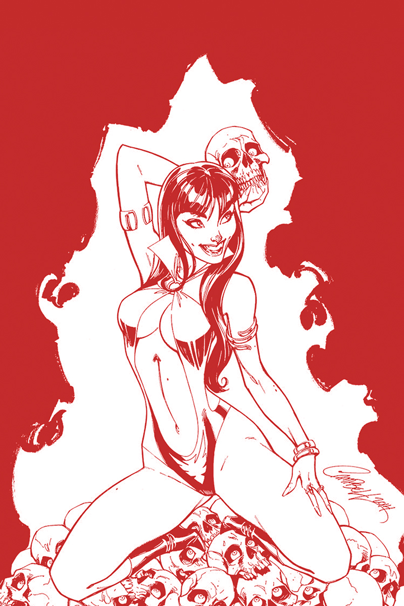 VAMPIRELLA #3 CAMPBELL LTD ED CRIMSON BLOOD LINE ART VAR