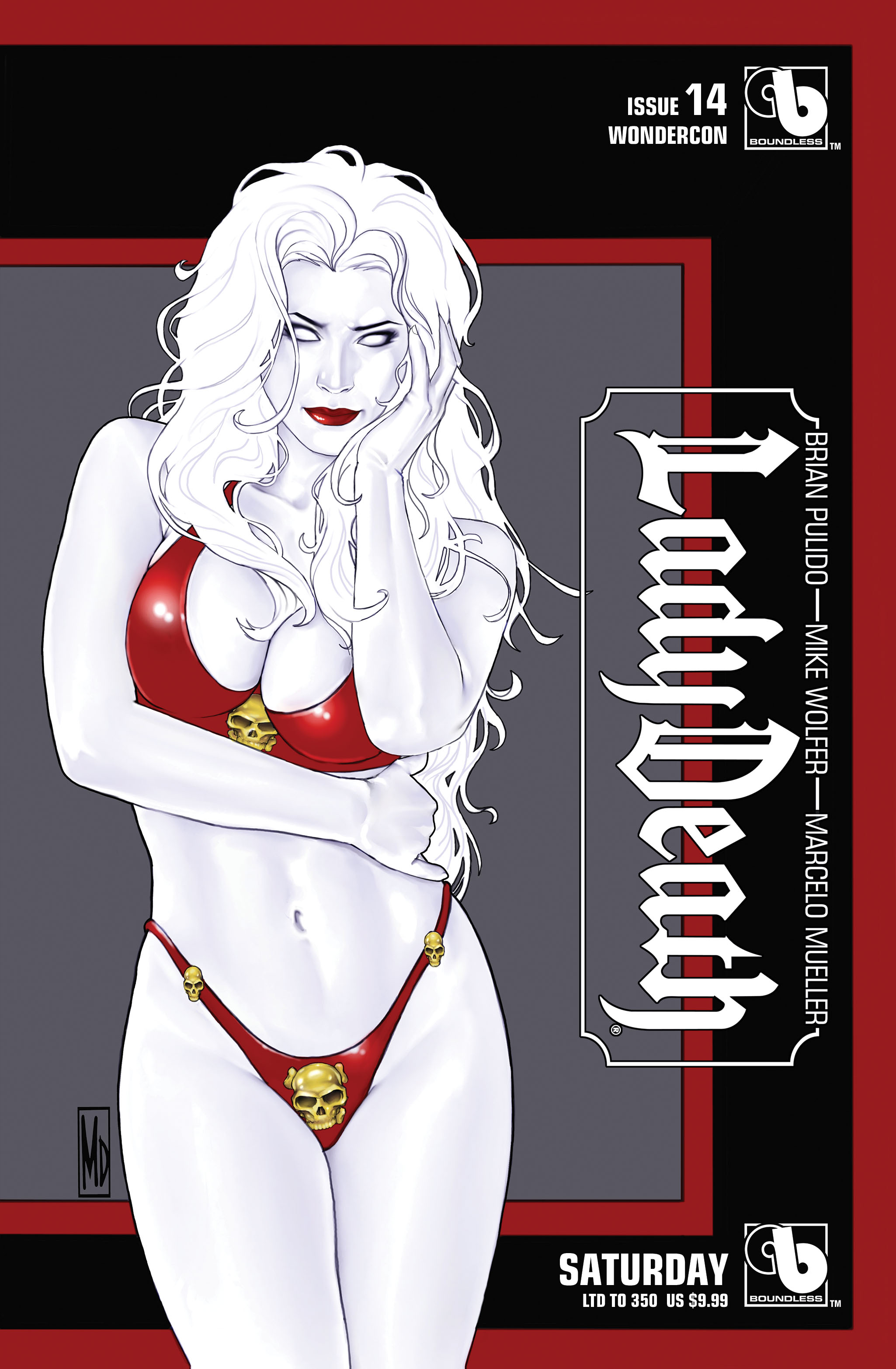 LADY DEATH (ONGOING) #14 WONDERCON SATURDAY (MR)