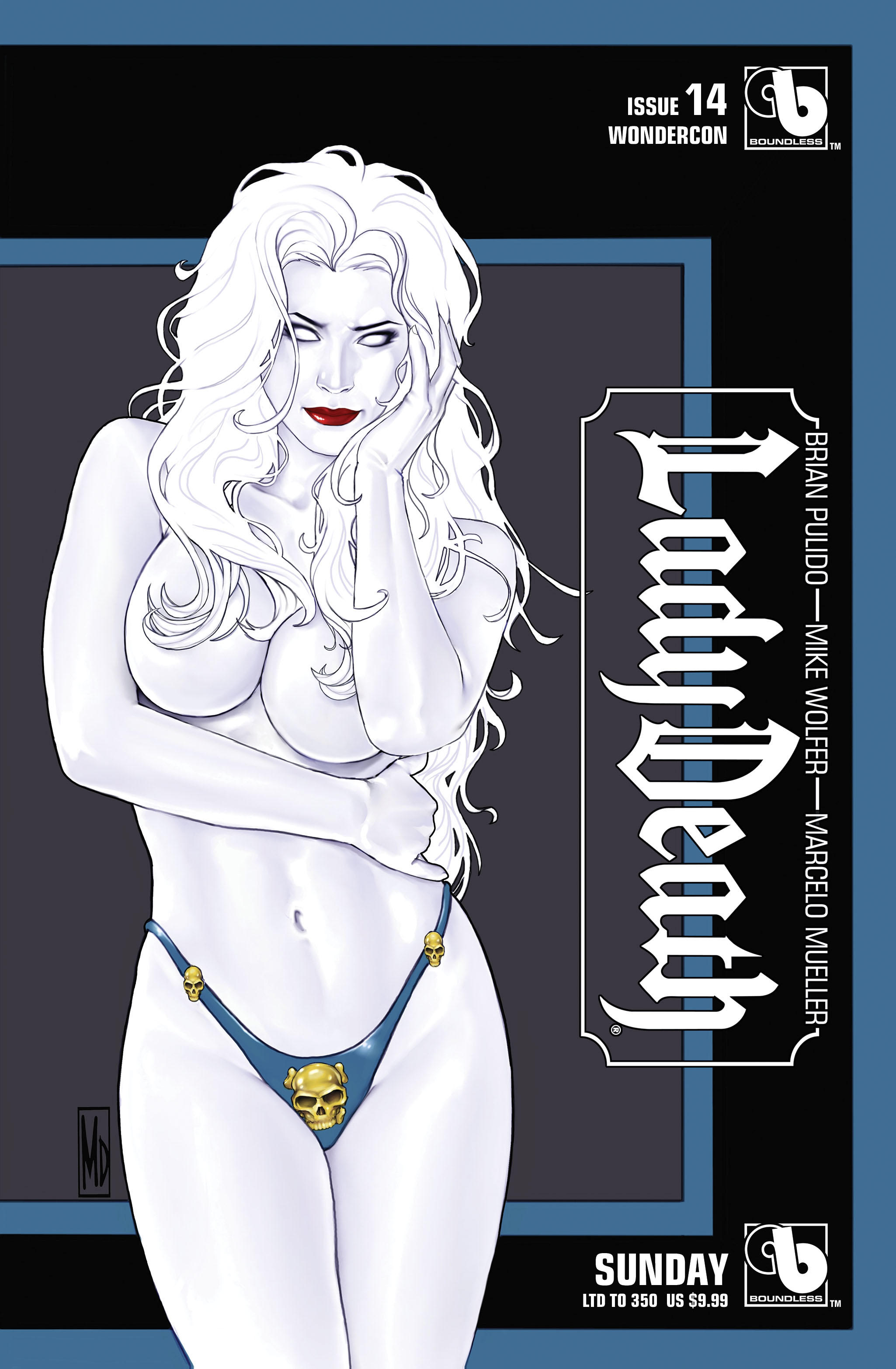 LADY DEATH (ONGOING) #14 WONDERCON SUNDAY (MR)