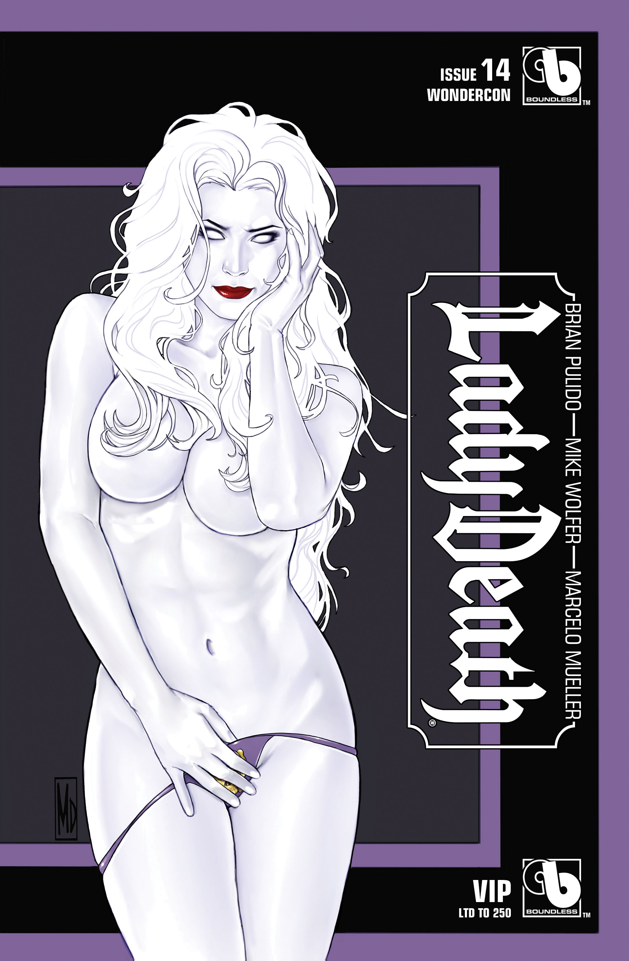 LADY DEATH (ONGOING) #14 WONDERCON VIP (MR)