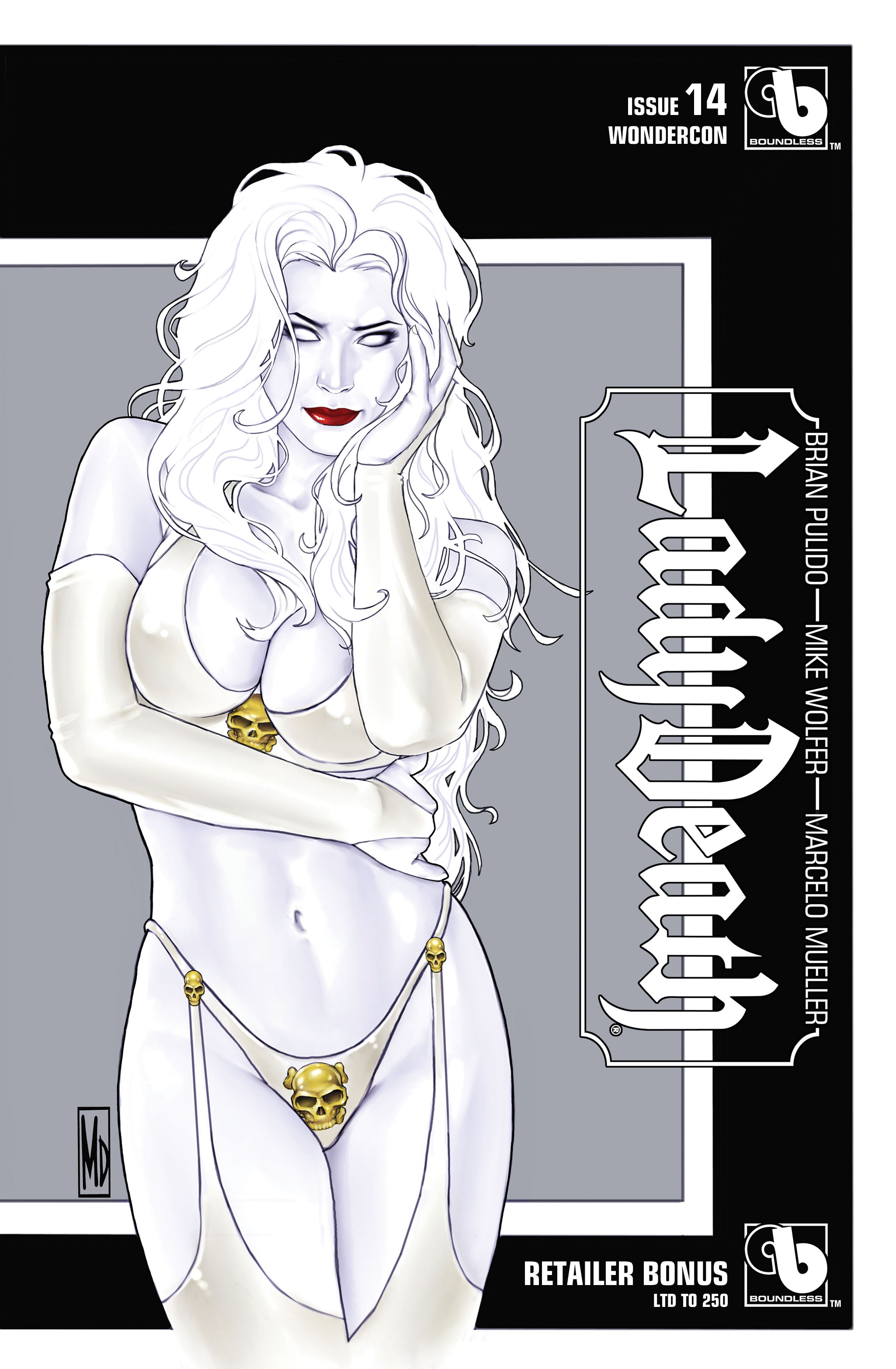 LADY DEATH (ONGOING) #14 WONDERCON RETAILER BONUS (MR)