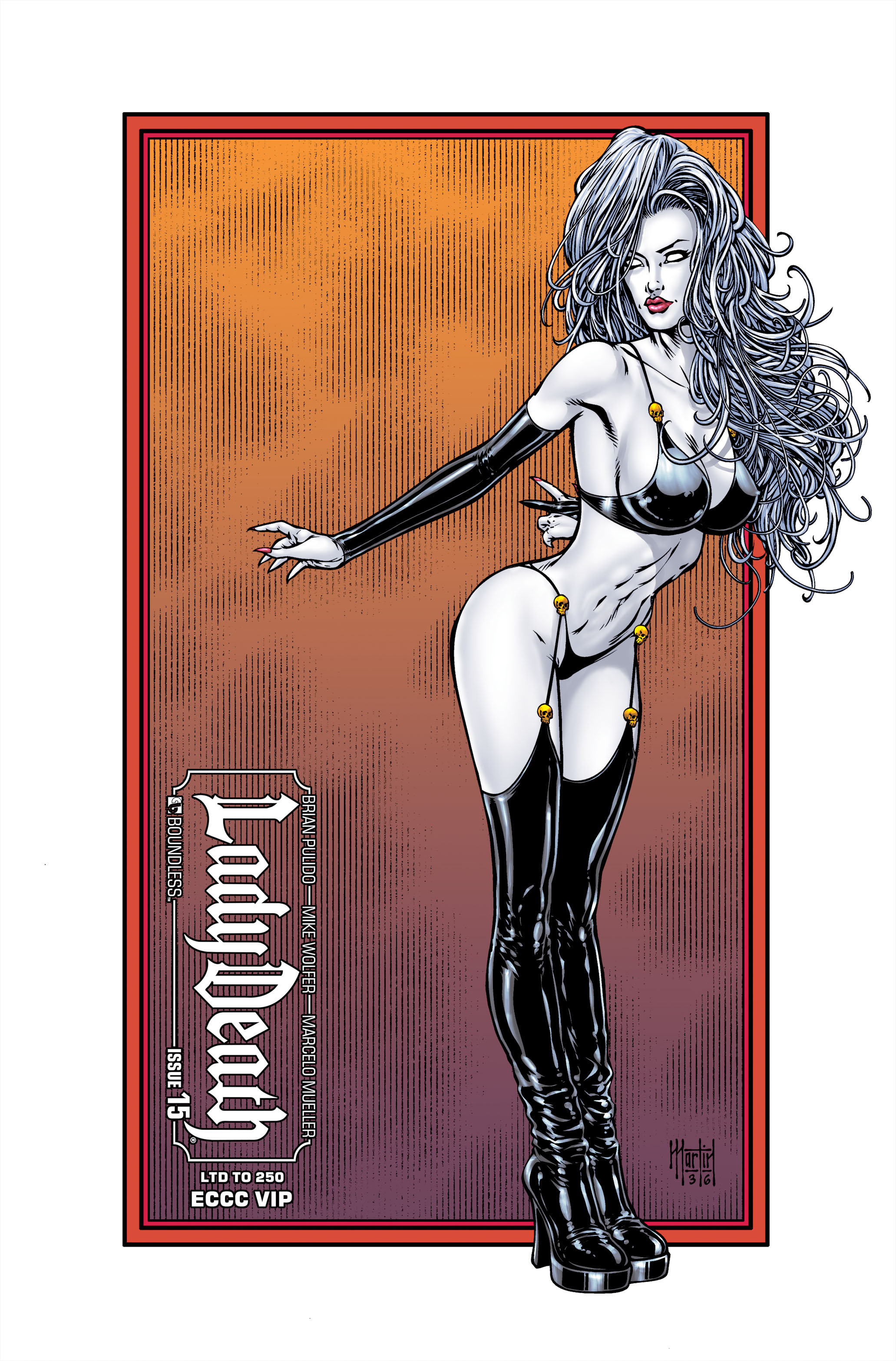 LADY DEATH (ONGOING) #15 ECCC VIP (MR)