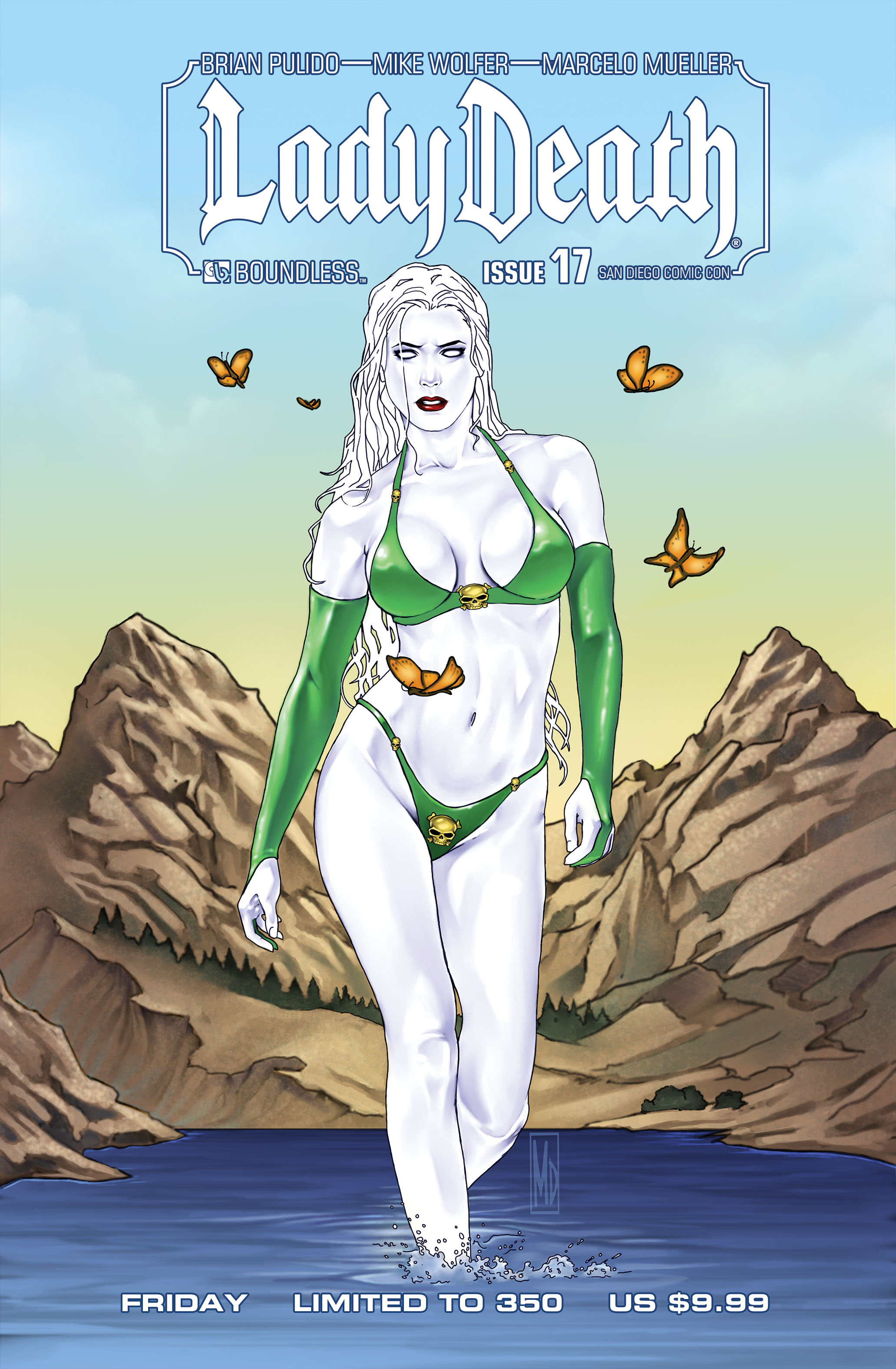 LADY DEATH (ONGOING) #17 SDCC FRI (MR)