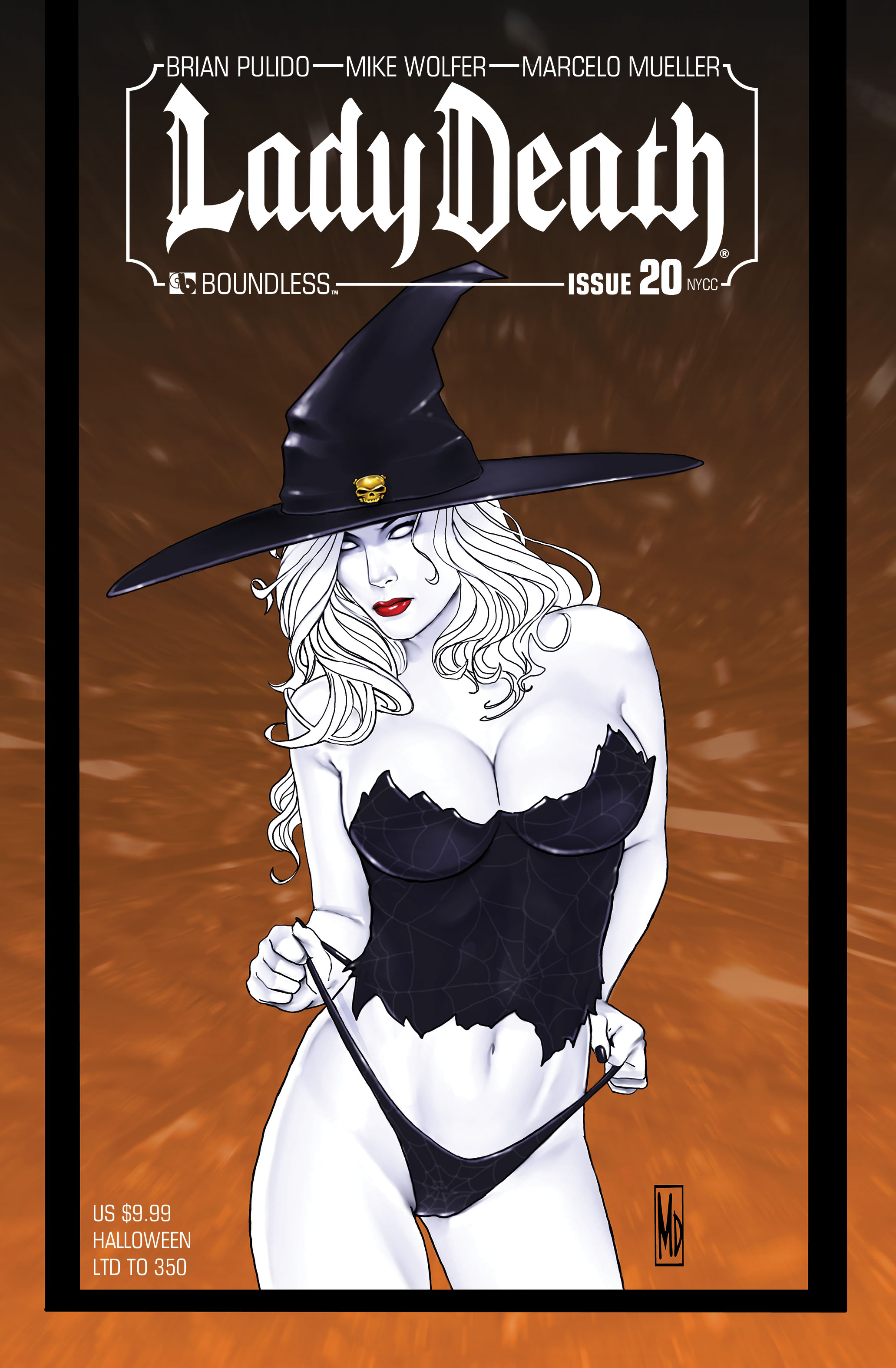LADY DEATH (ONGOING) #20 NY HALLOWEEN (MR)