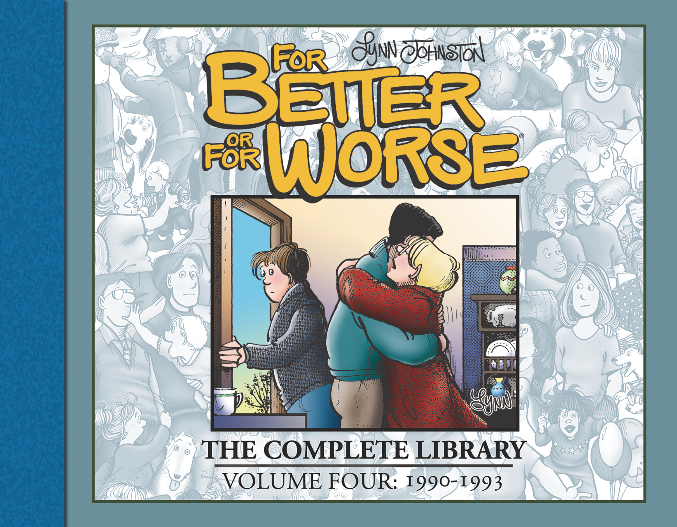 FOR BETTER OR FOR WORSE COMP LIBRARY HC VOL 04