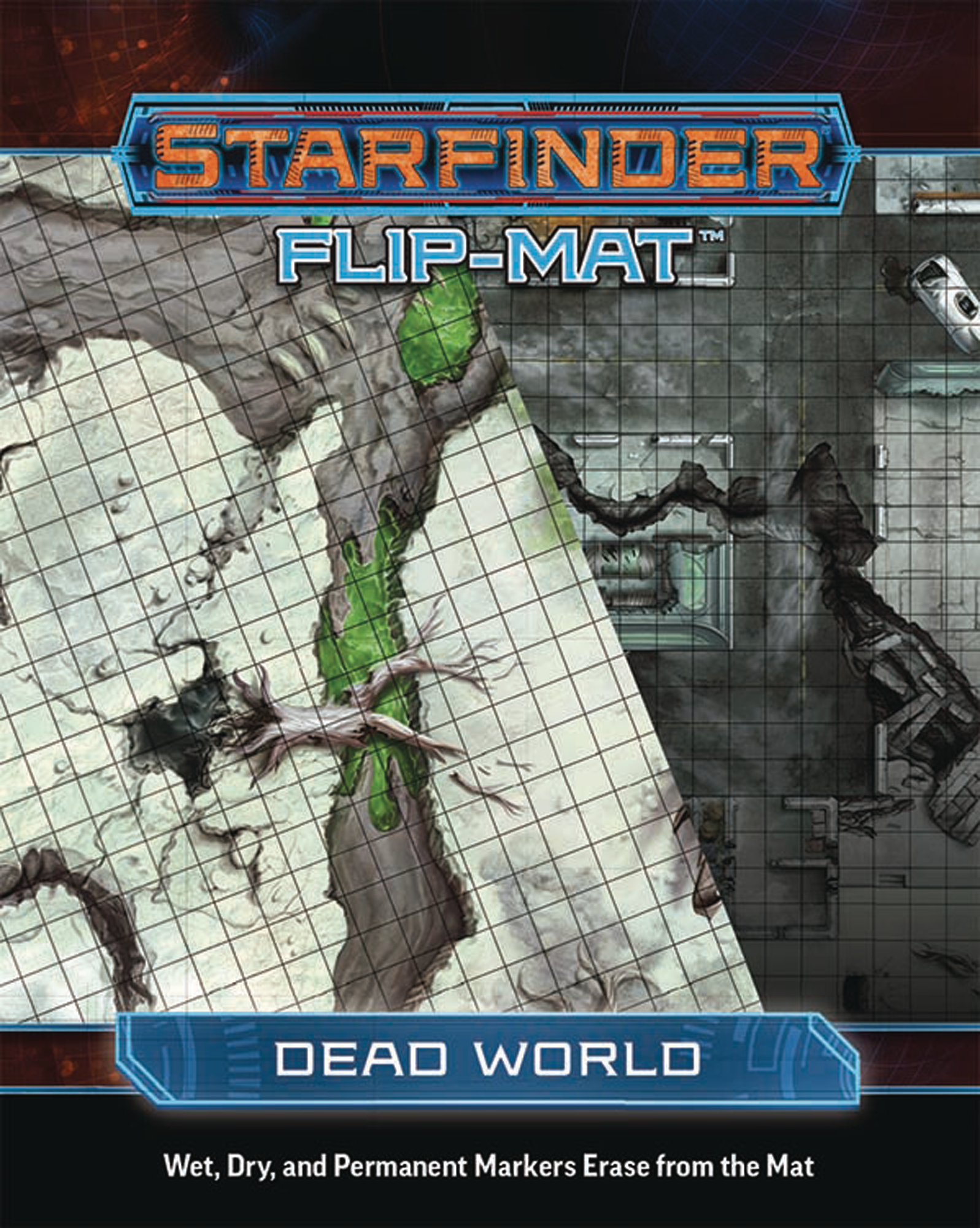 STARFINDER RPG FLIP MAT DEAD WORLD