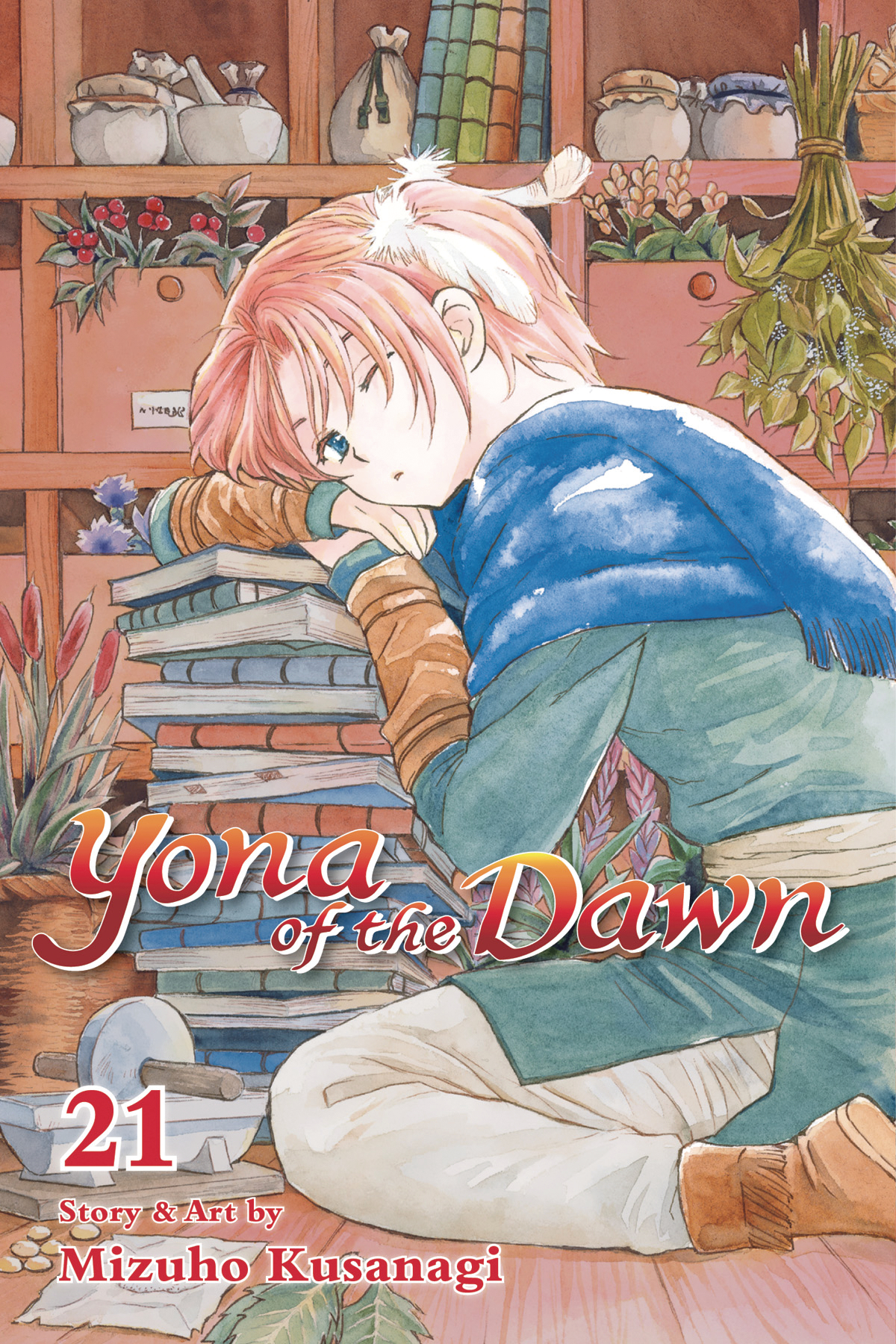 YONA OF THE DAWN GN VOL 21