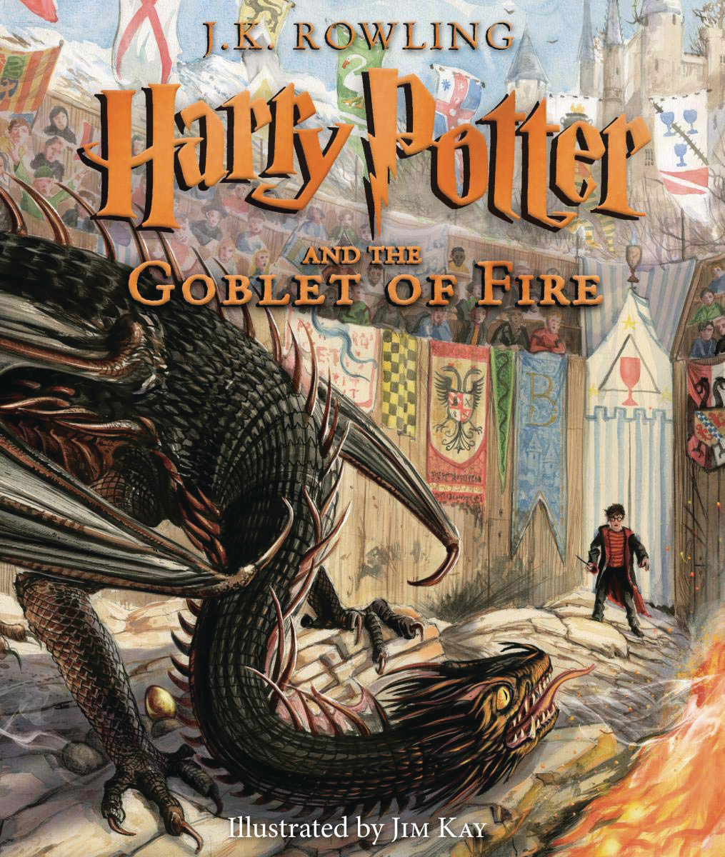 HARRY POTTER & GOBLET OF FIRE ILLUSTRATED HC ED
