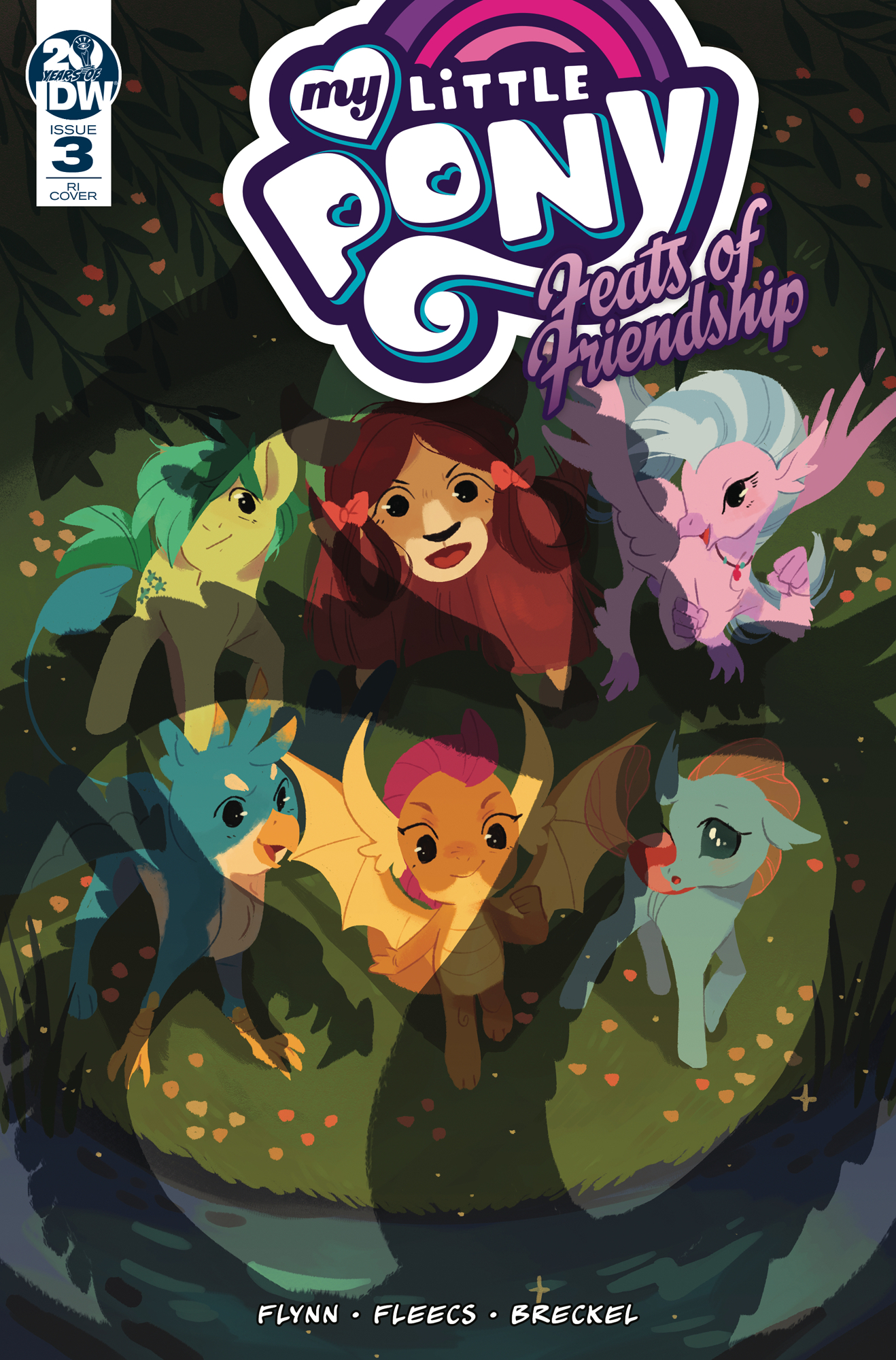 MY LITTLE PONY FEATS OF FRIENDSHIP #3 10 COPY INCV ONEILL (N