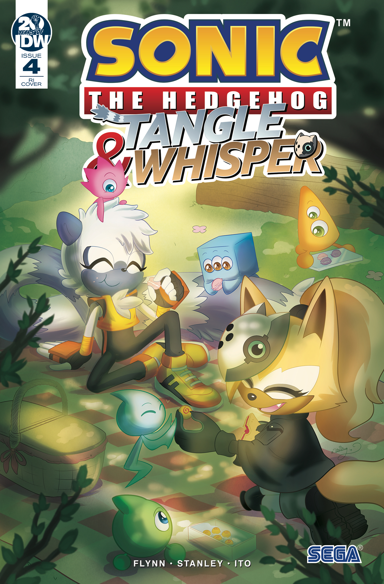 SONIC THE HEDGEHOG TANGLE & WHISPER #4 (OF 4) 10 COPY INCV S